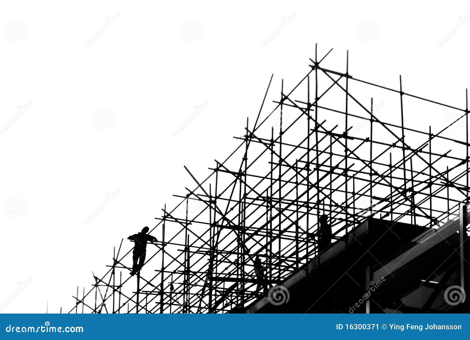 scaffolding stock image image  scaffolding