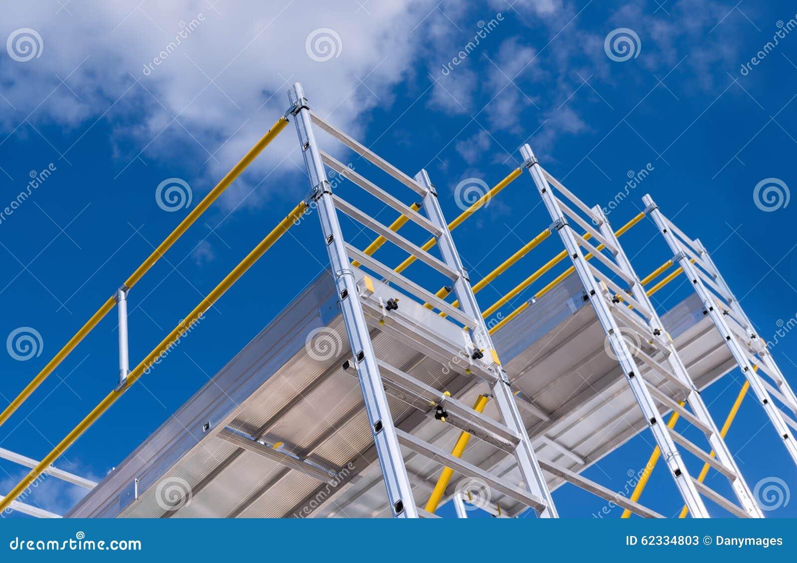 Scaffolding Stock Photo Image 62334803