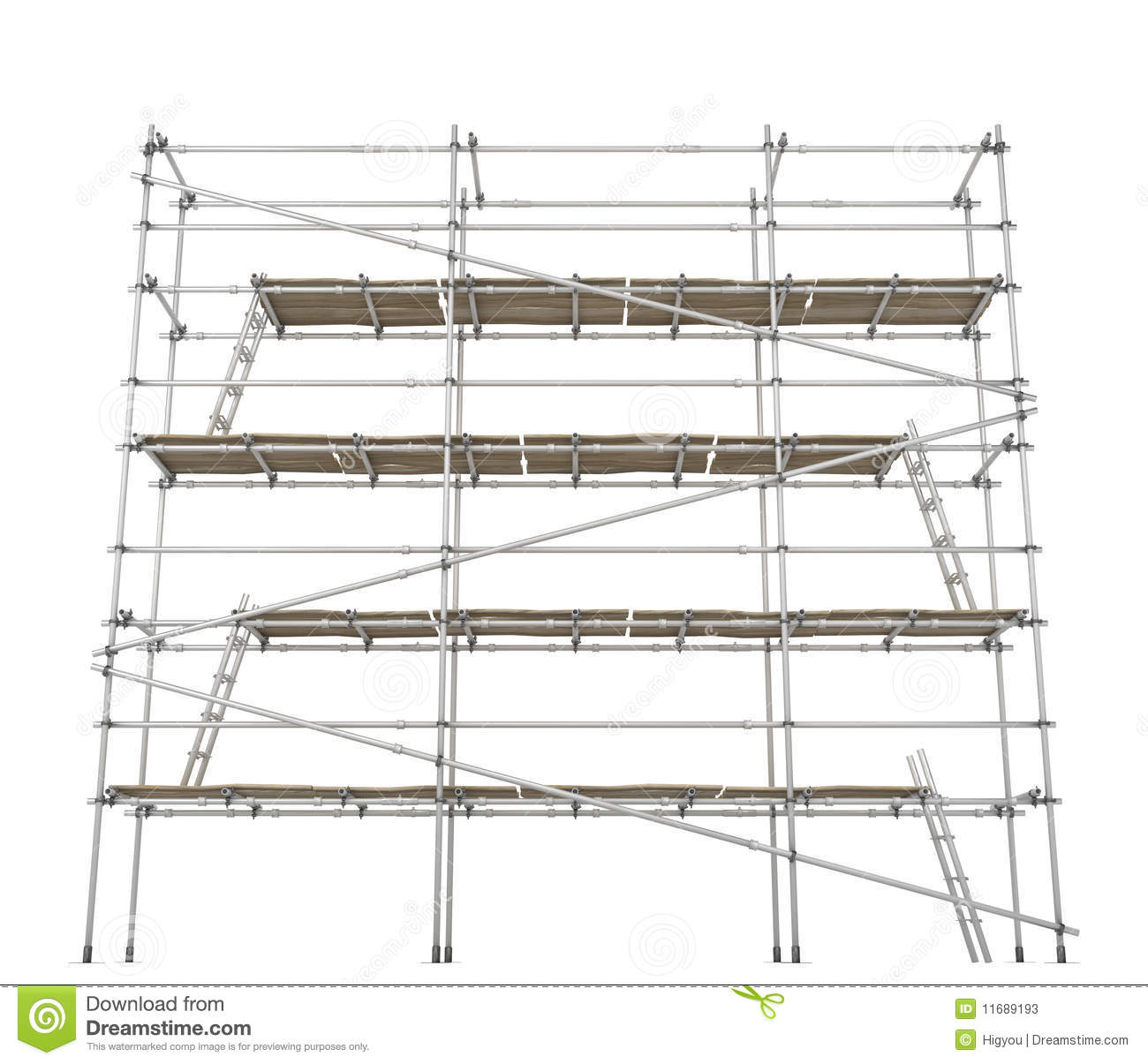 Scaffolding Front Stock Photos Image 11689193