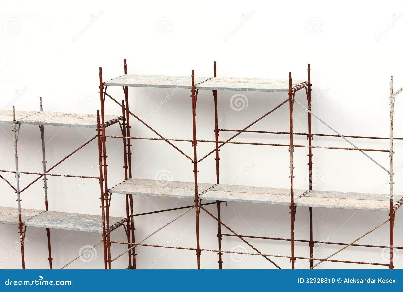 Construction Scaffolding Design : Scaffolding stock photo image