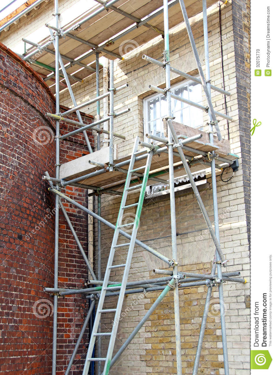 Scaffolding structure stock photo image 32075770 for Structure photography