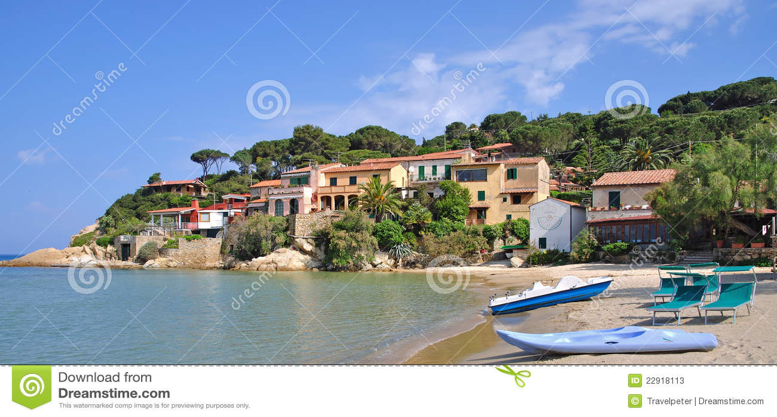 Scagliari, Elba-Insel, Italien