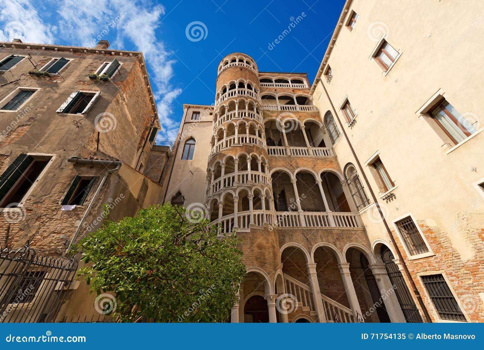 Scala Contarini del Bovolo - Venezia Ιταλία