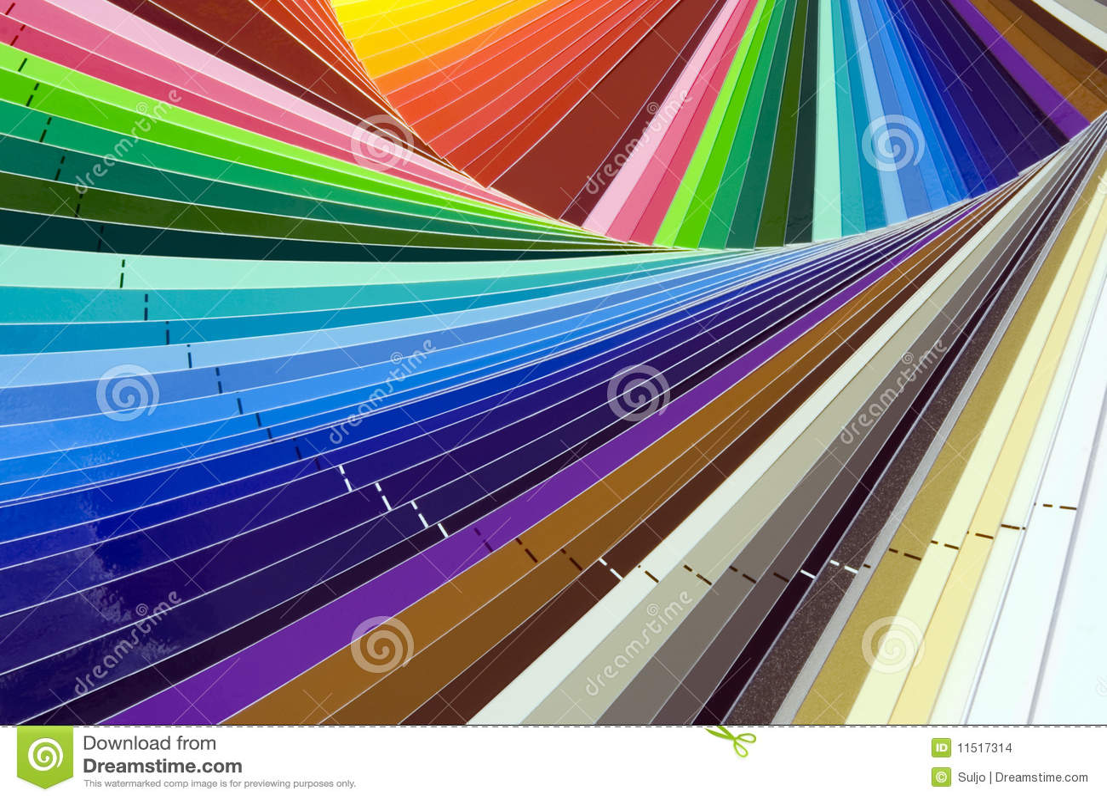 Scala di colore fotografia stock immagine di tessuto - Scale di colore ...
