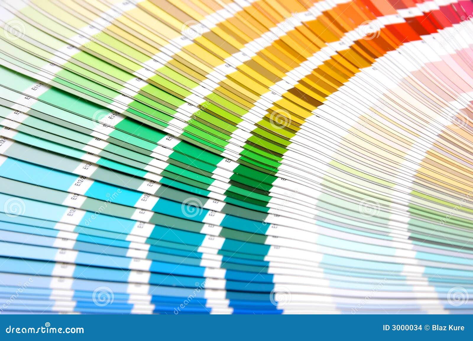 Scala di colore fotografia stock immagine di isolato - Scale di colore ...