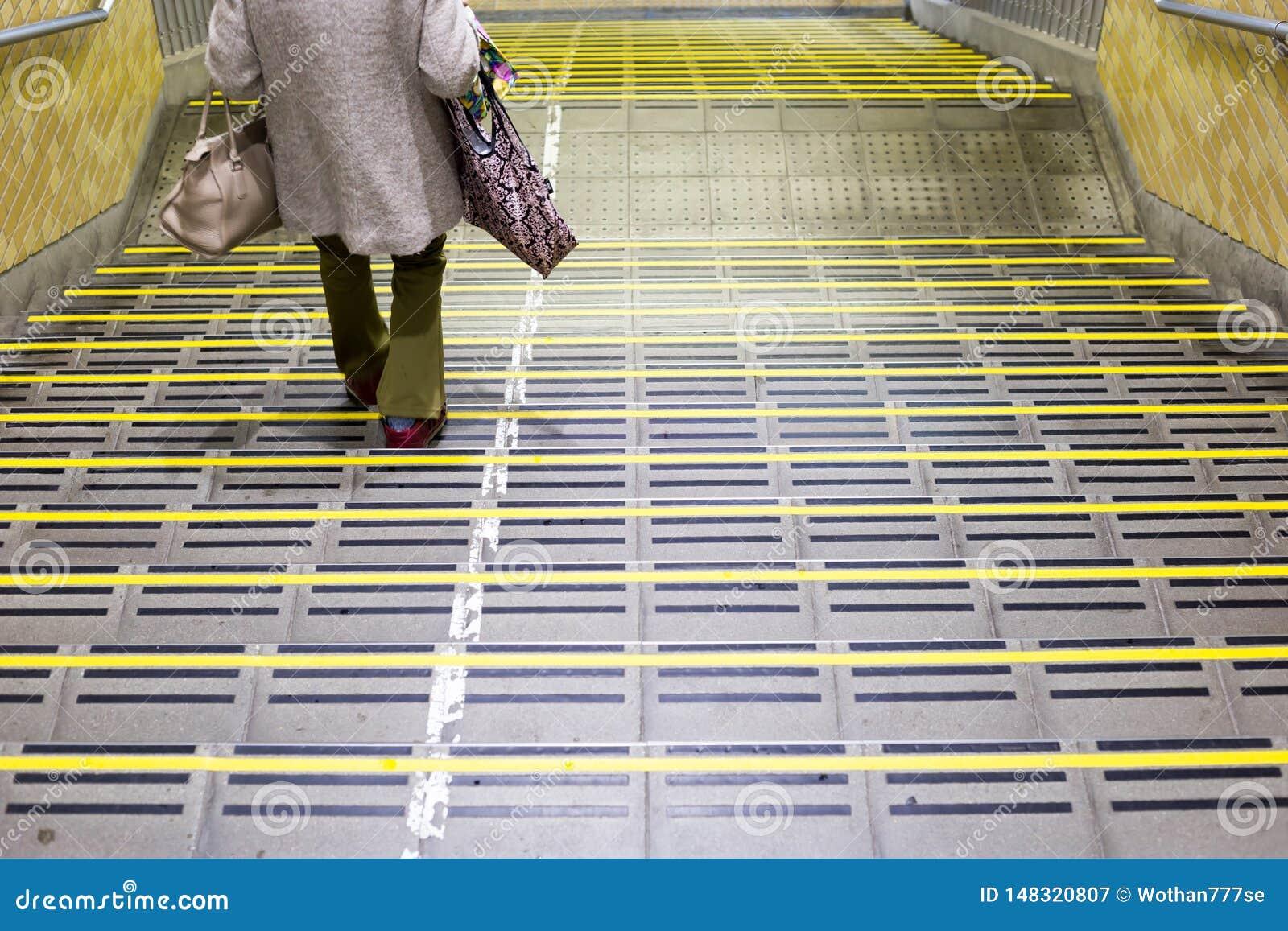 Scale nella stazione di Chiba