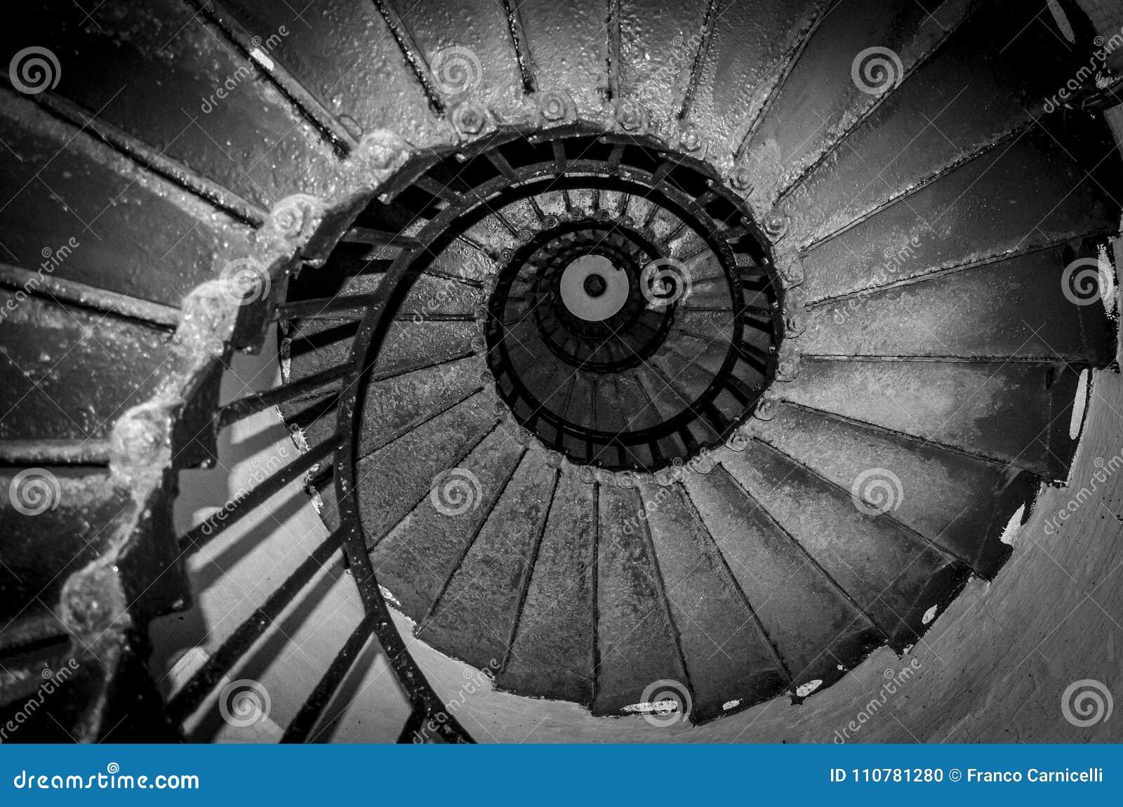 Scale A Spirale Nere Fotografia Stock Immagine Di Scala 110781280