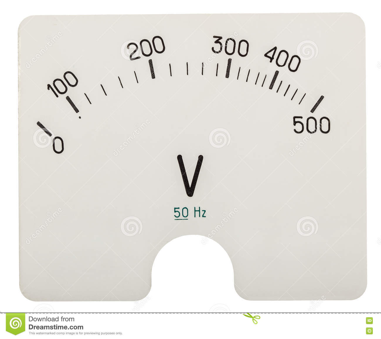 Concept Of Voltmeter : Technologic background of blue shades vector illustration