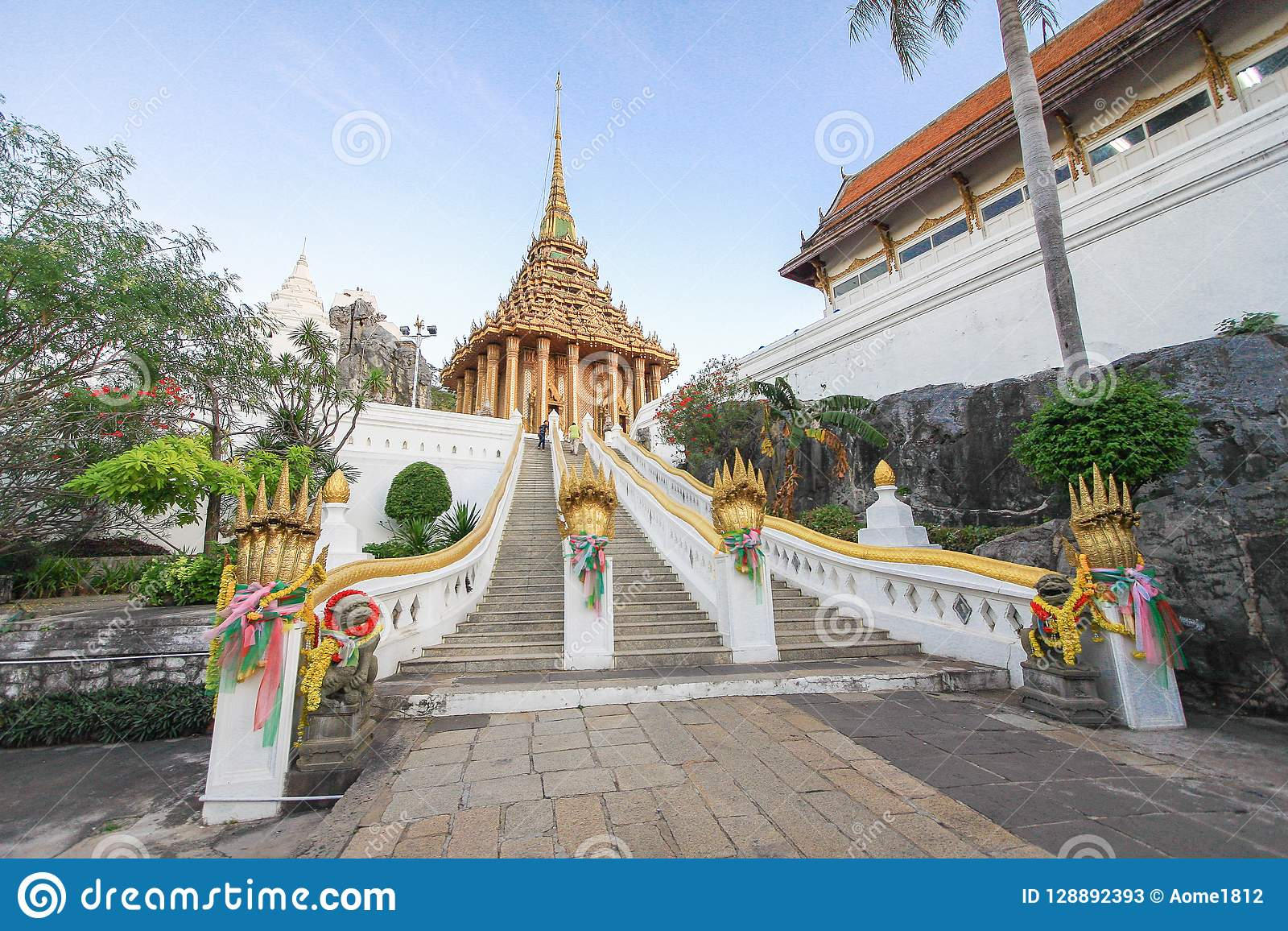Scale Wat Phra Phutthabat, Saraburi Tailandia