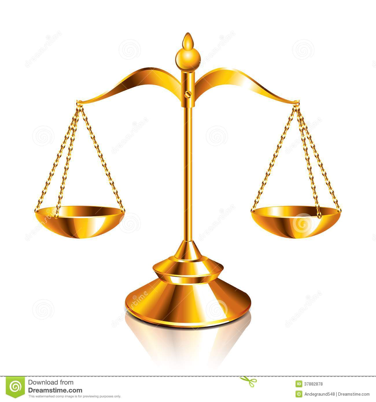 scales of justice vector illustration royalty free stock Scales of Justice Symbol justice scales clipart