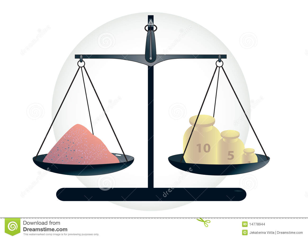 Scales Measuring Chemical Powder Stock Images - Image: 14778944