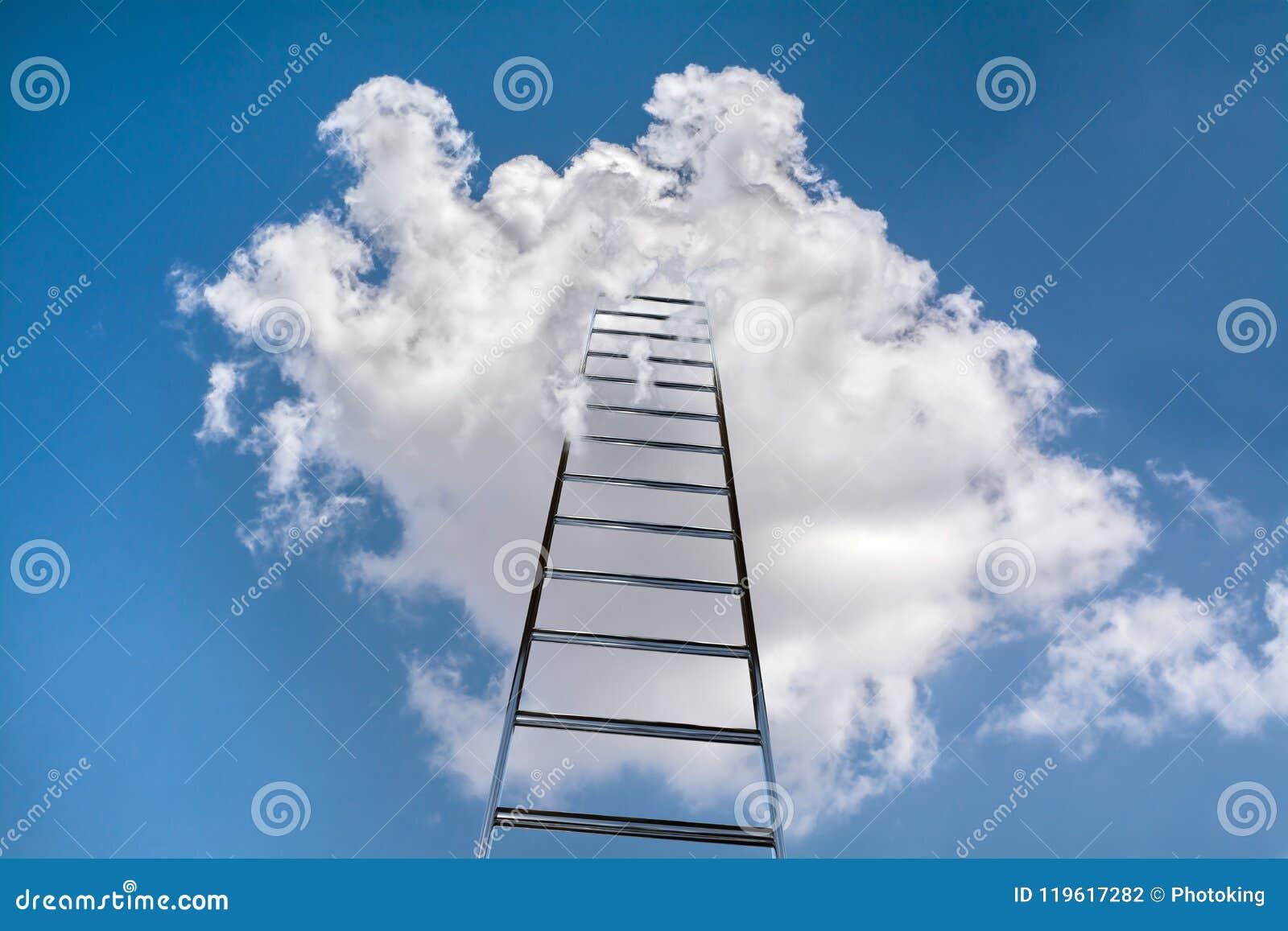 Scaletta al cielo
