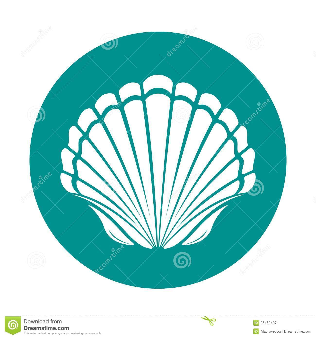 Scallop shell stock illustrations 3345 scallop shell stock scallop sea shell symbol vector illustration royalty free stock photography biocorpaavc Image collections