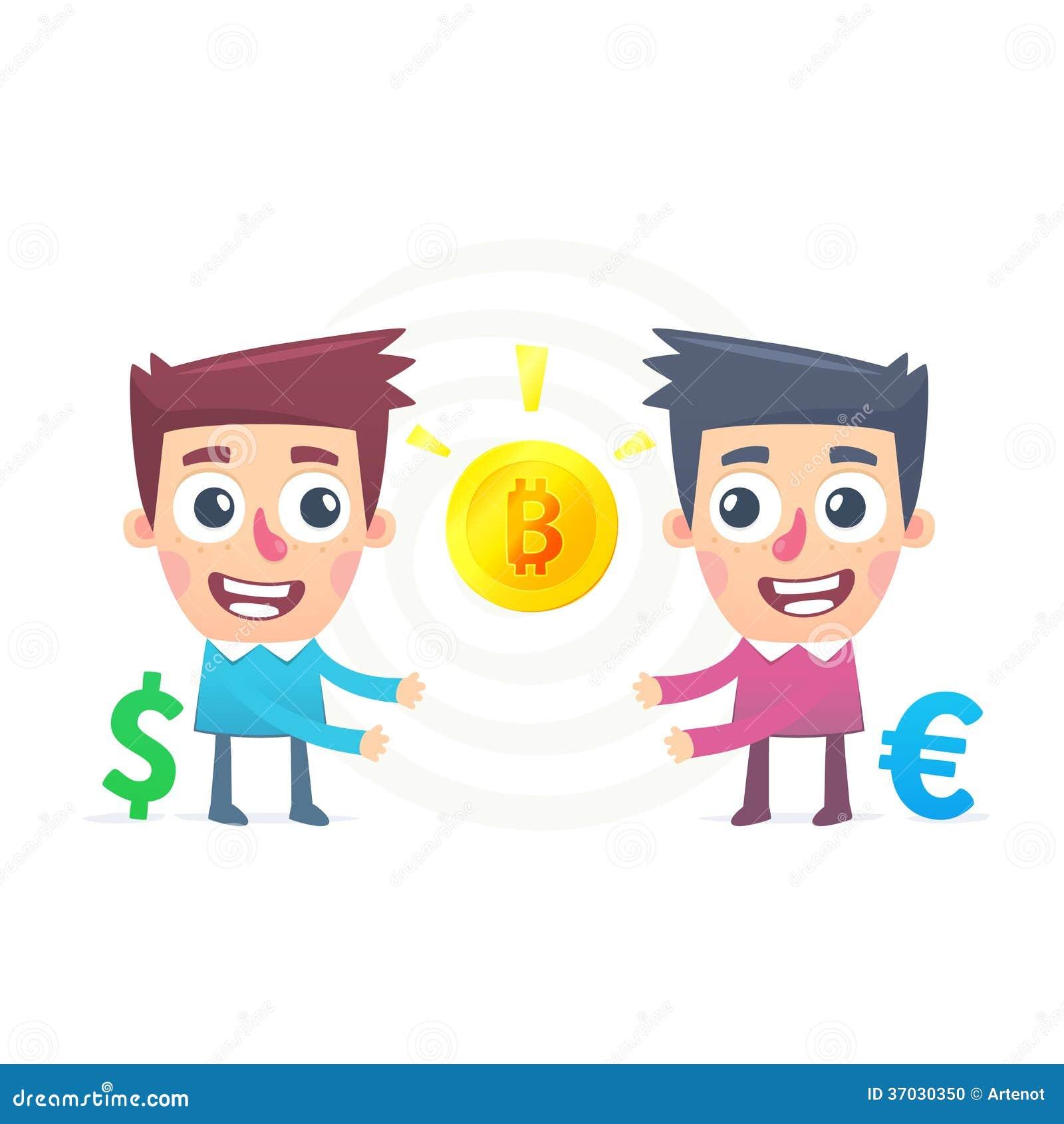Scambio di Bitcoin