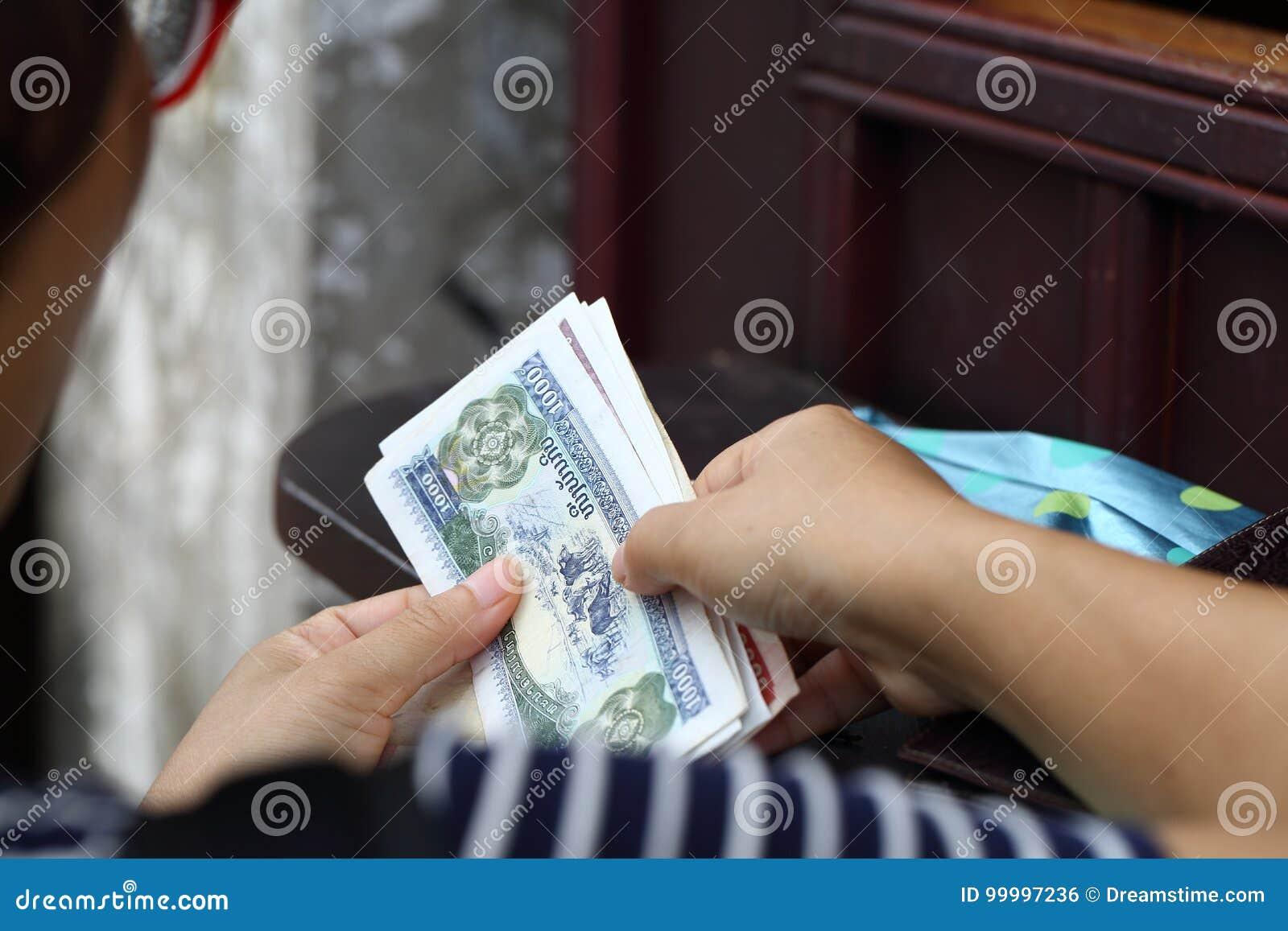 Scambio di soldi stranieri