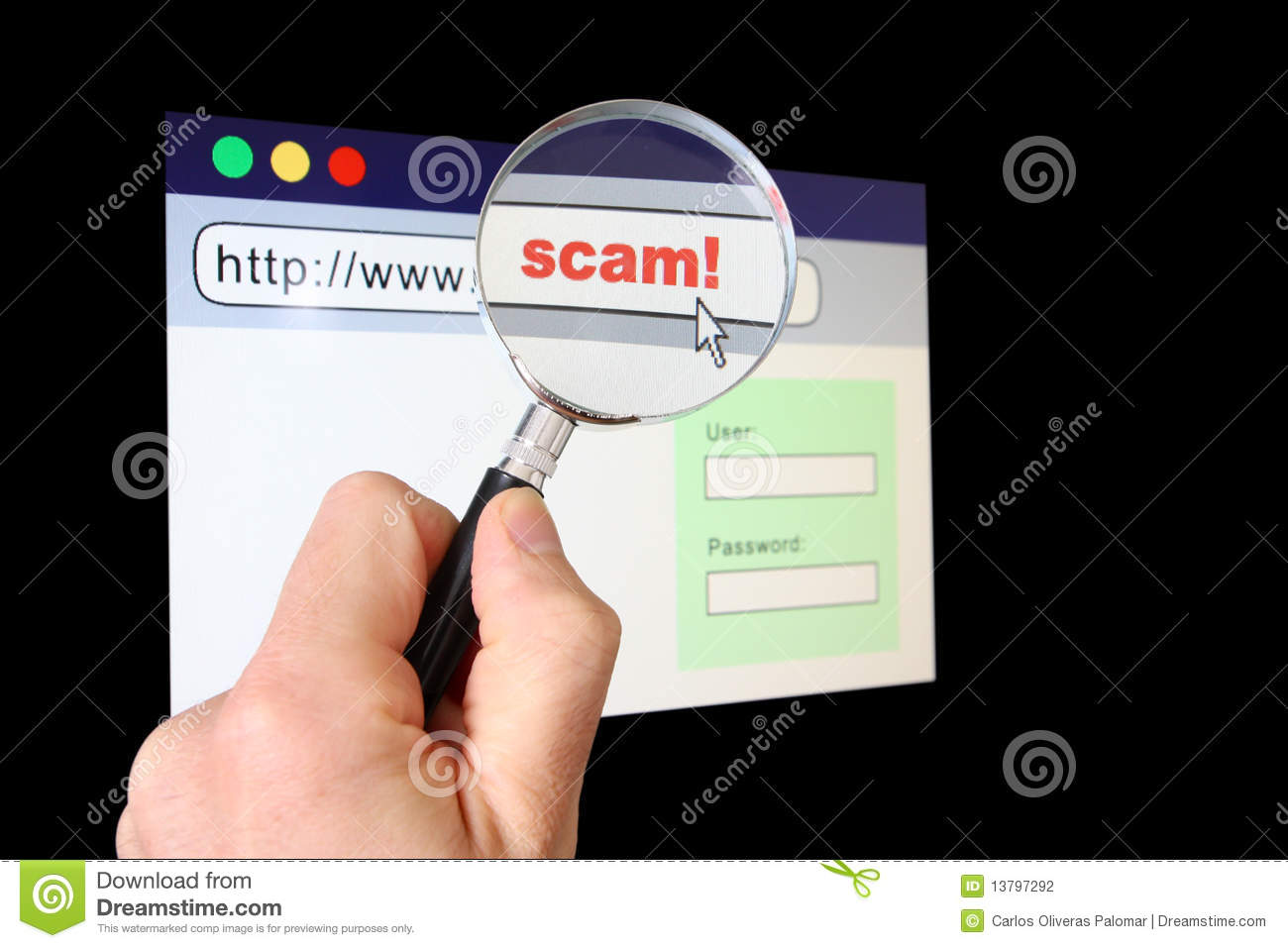 Spotting a Potential Scam