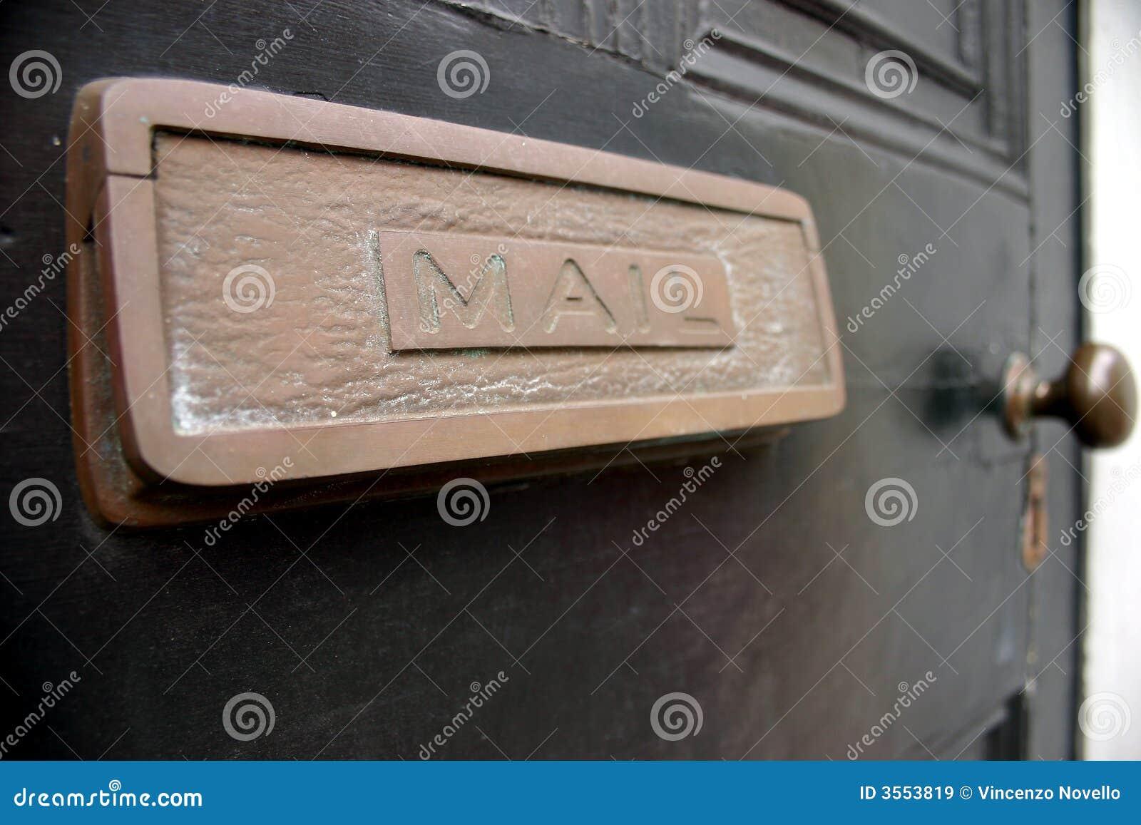 Scanalatura di posta