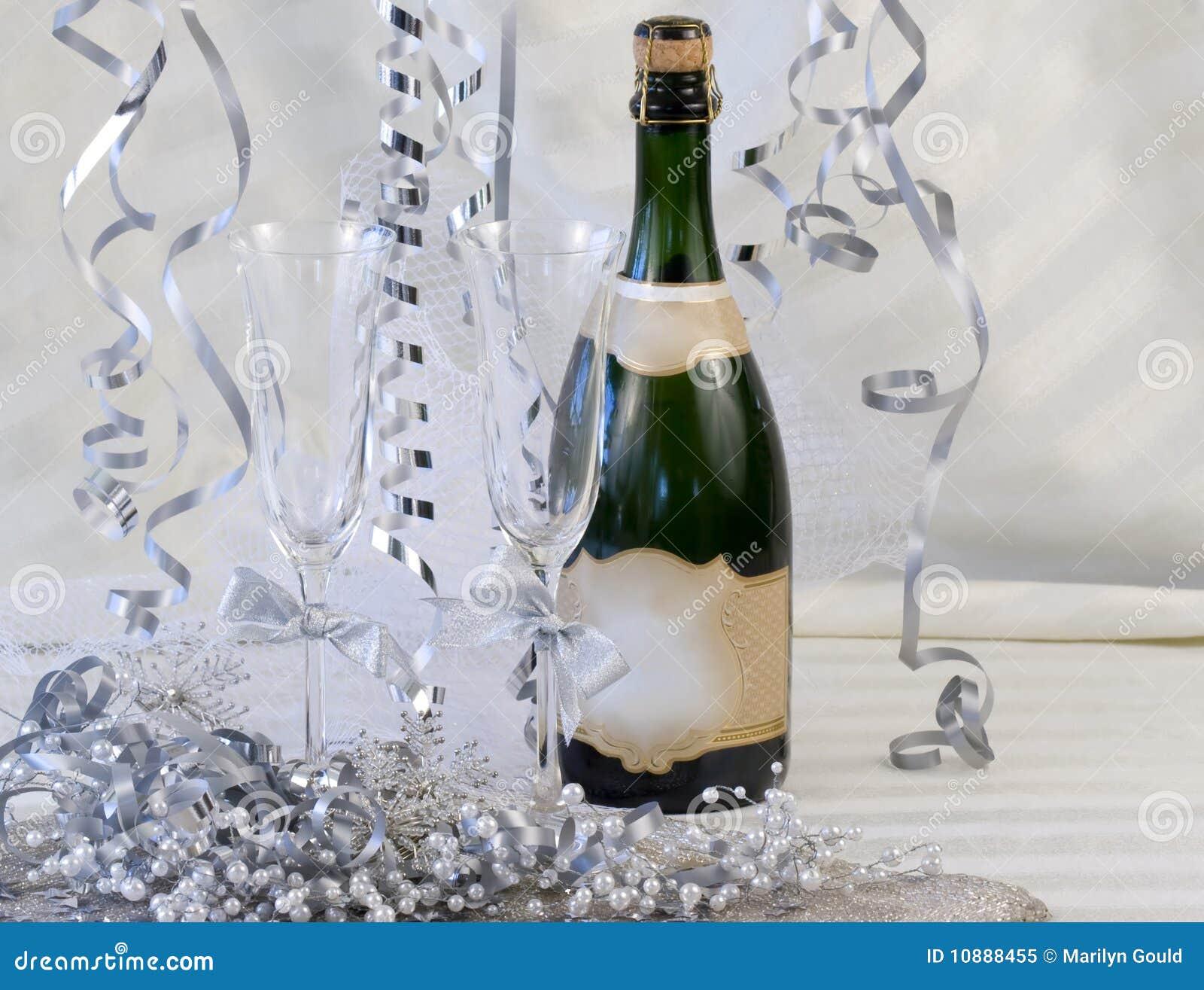 Scanalature di Champagne decorate