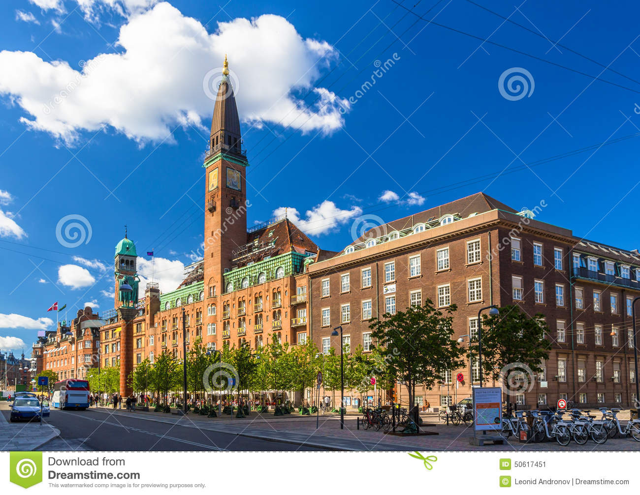 Scandic palace hotel in copenhagen stock photo image for Hotel in kopenhagen