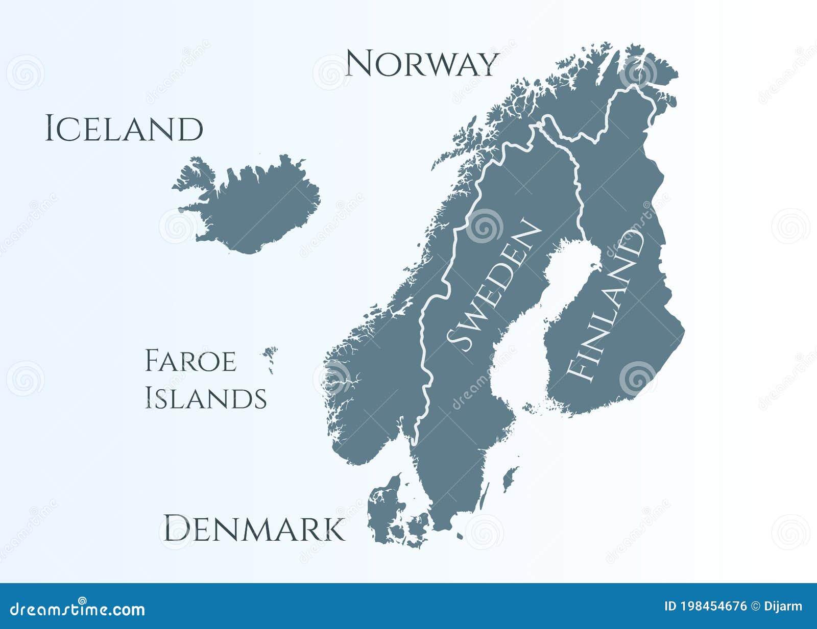 Picture of: Scandinavia Map Finland Sweden Denmark Norway Stock Illustrations 460 Scandinavia Map Finland Sweden Denmark Norway Stock Illustrations Vectors Clipart Dreamstime