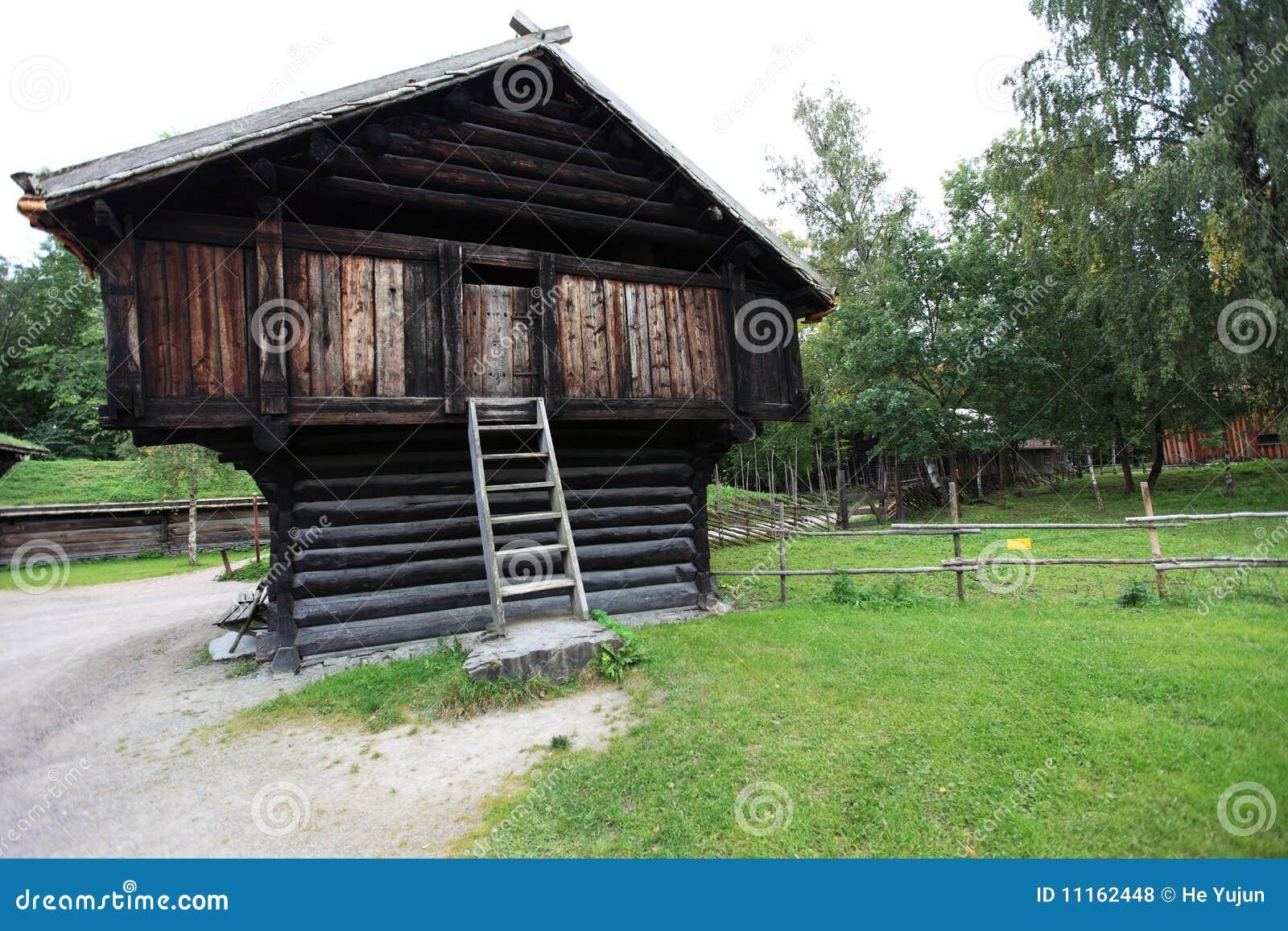 Scandinavian Barn Royalty Free Stock Photos Image 11162448