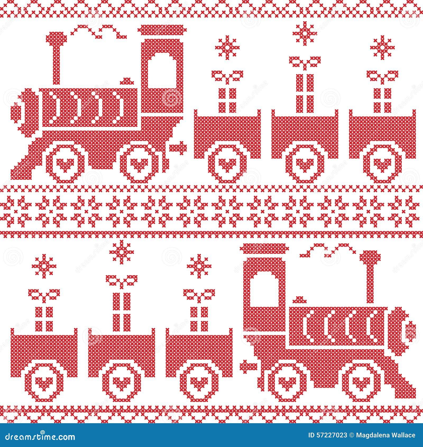 Christmas Train Decoration