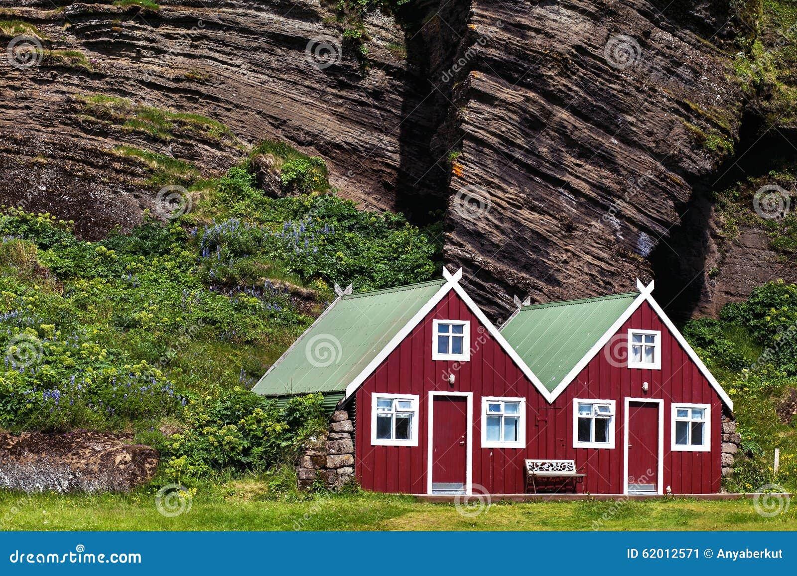 Scandinavian houses stock image image of town nature - Casas escandinavas ...