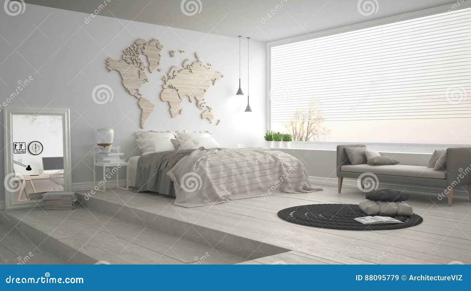 Admirable Scandinavian Minimalist Bedroom Minimalistic Modern Interior Design Ideas Jittwwsoteloinfo