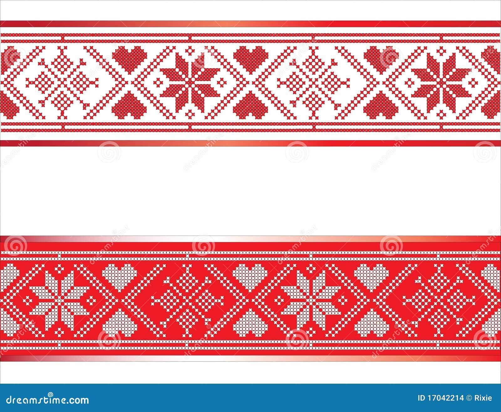 scandinavian ribbon stock images