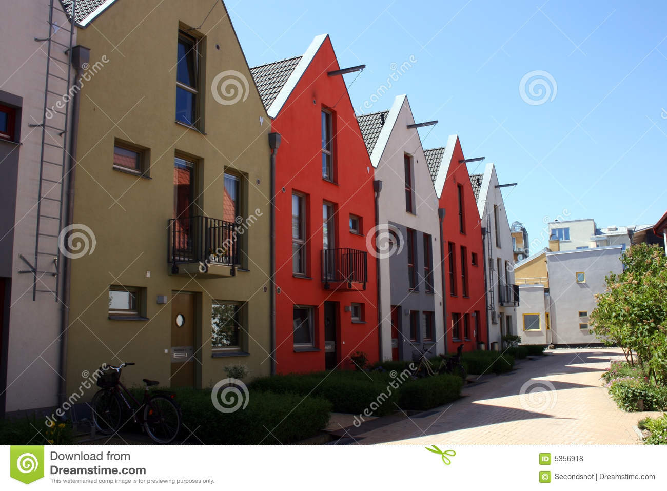 scandinavian row houses royalty free stock photos image 5356918 houses