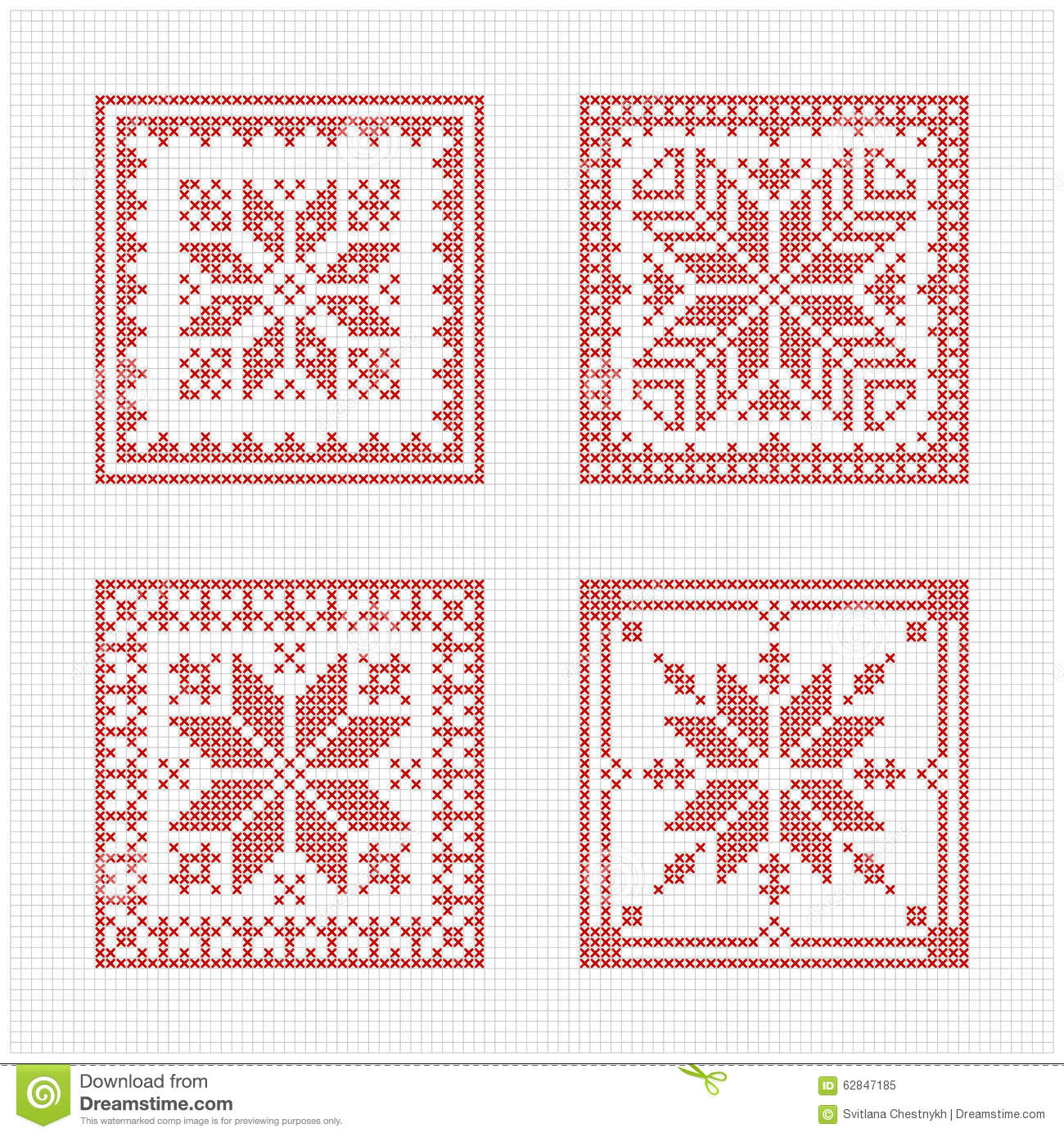Free Christmas Cross Stitch Patterns To Print Simple Decoration