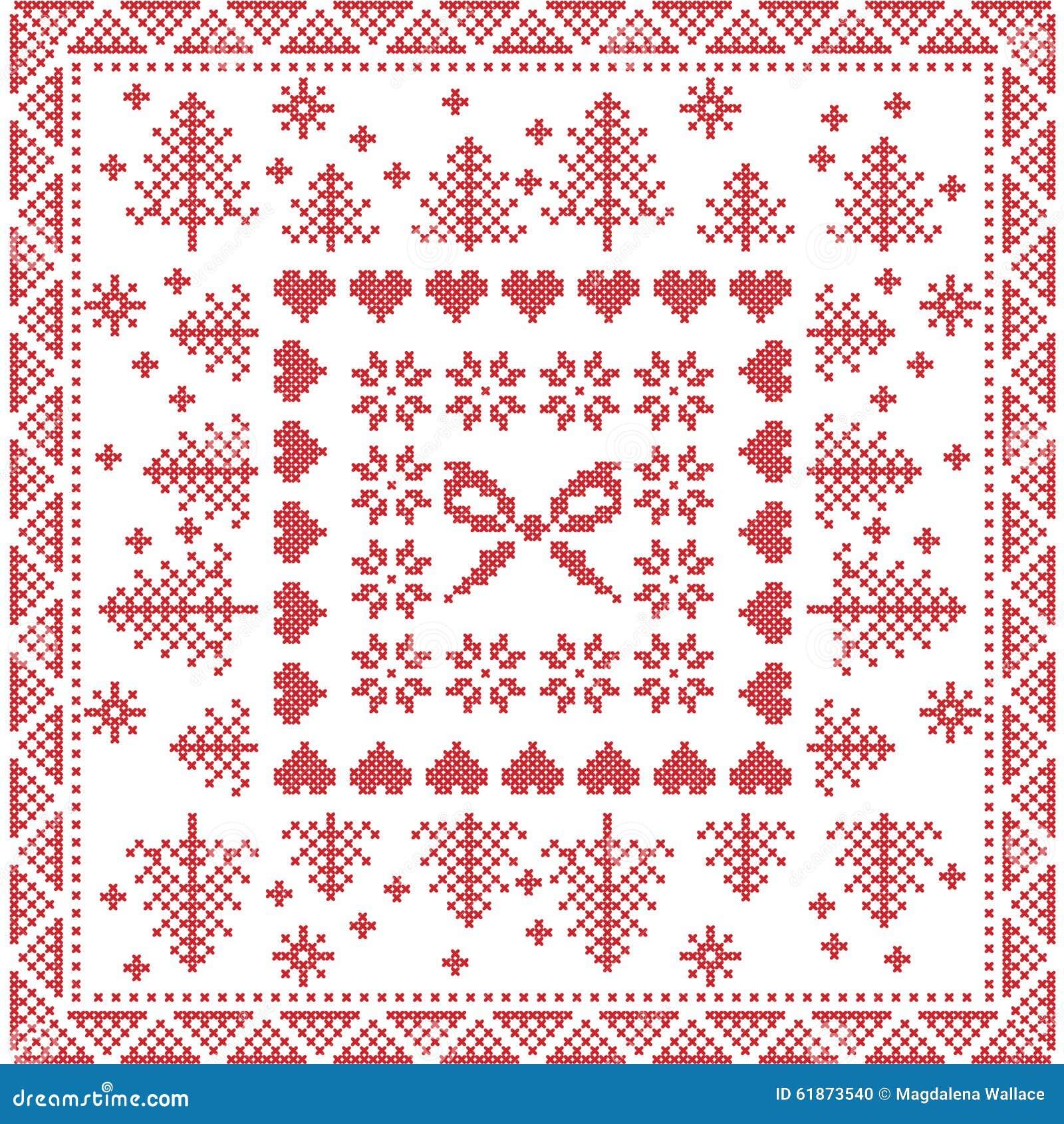 Knitting Christmas Tree