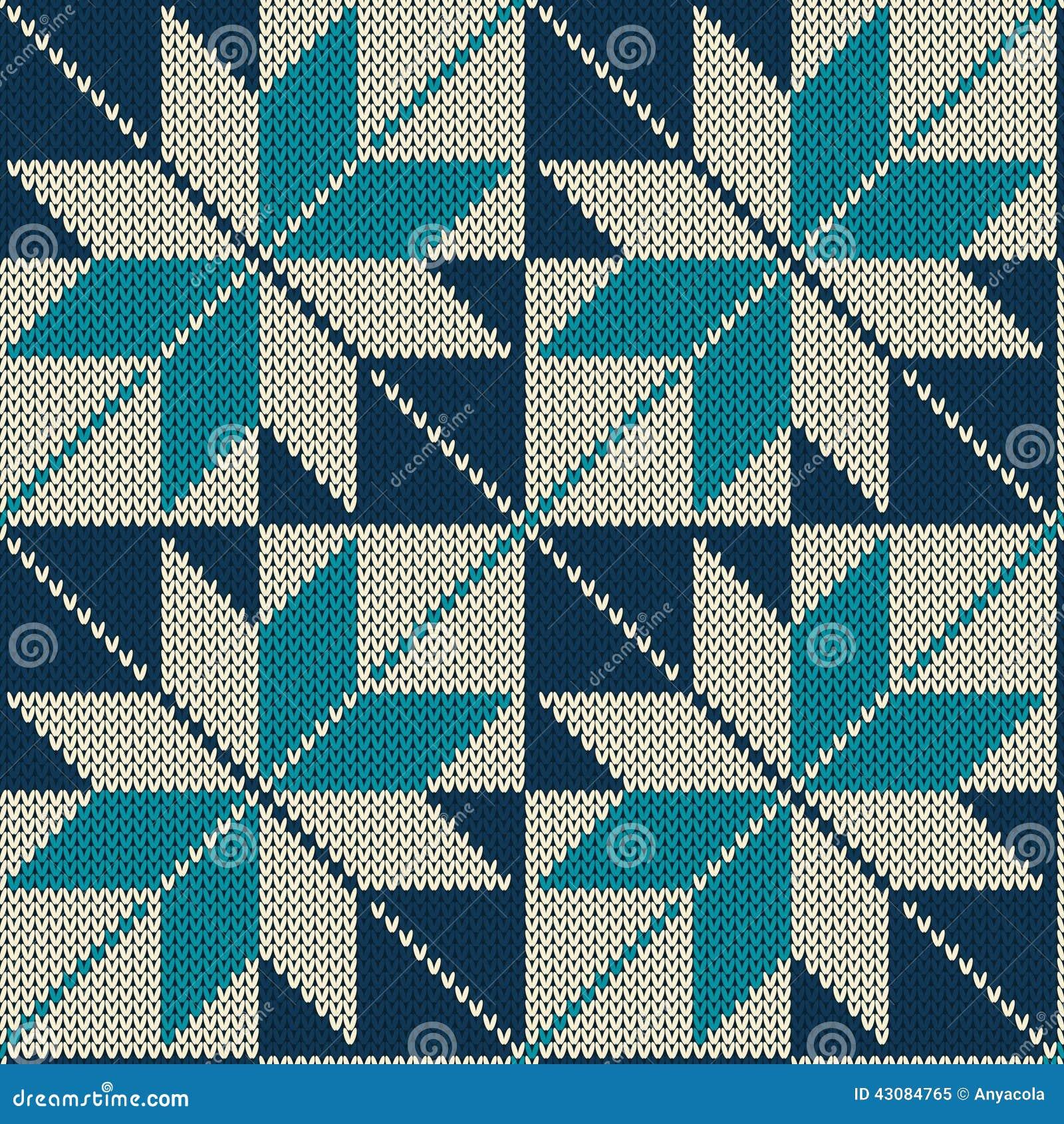 Scandinavian Style Seamless Knitted Pattern. Knitted Wool Texture ...