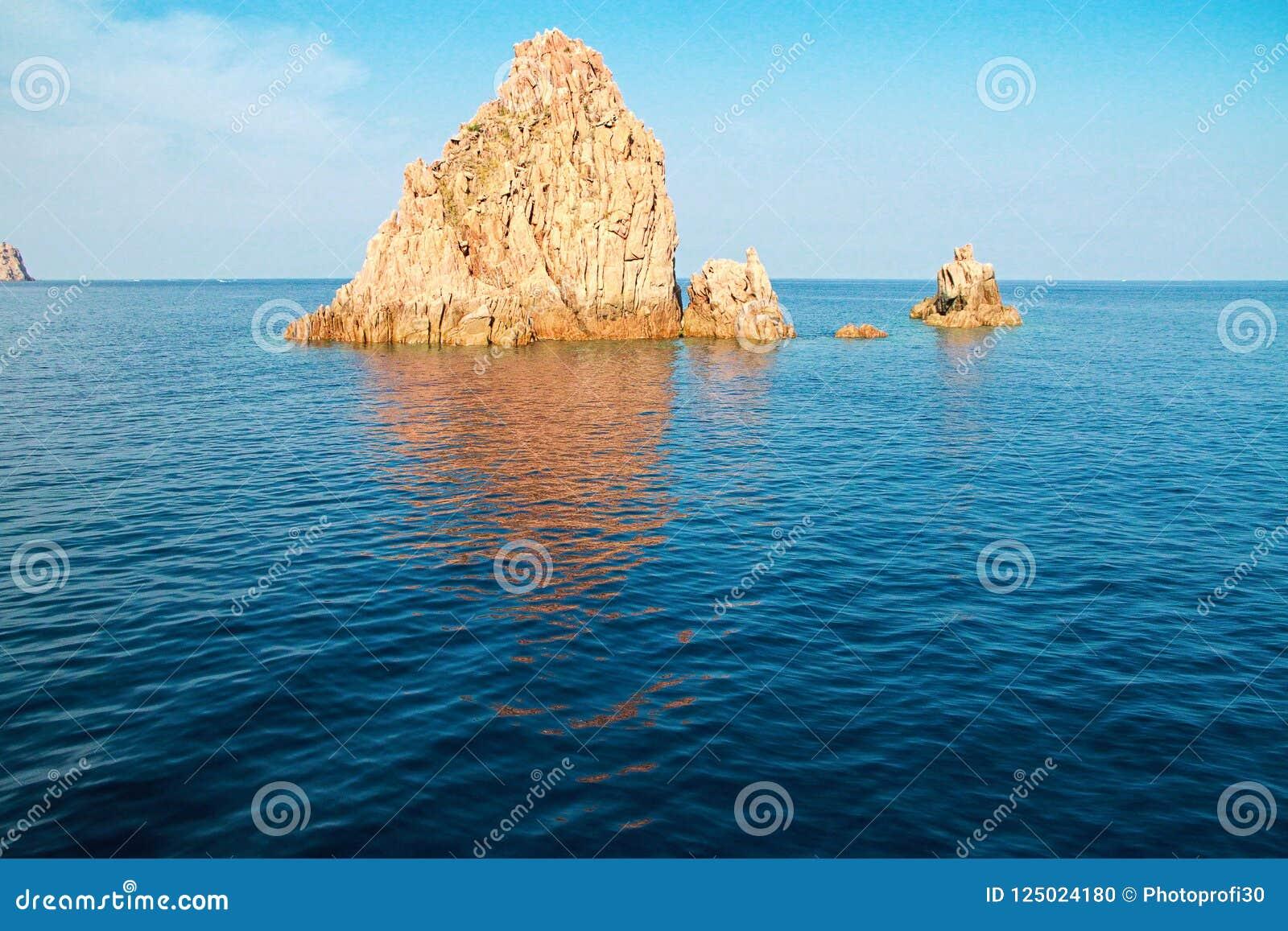 Scandola naturreserv, Korsika, Frankrike