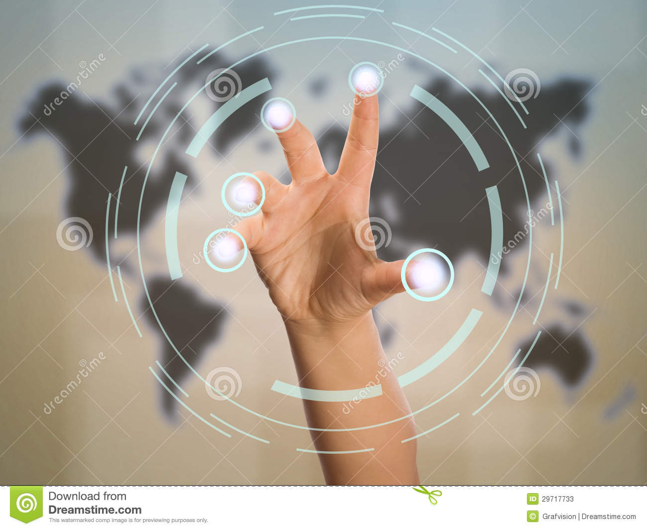 Scanning Finger Touch Screen Interface on Authentication And Authorization