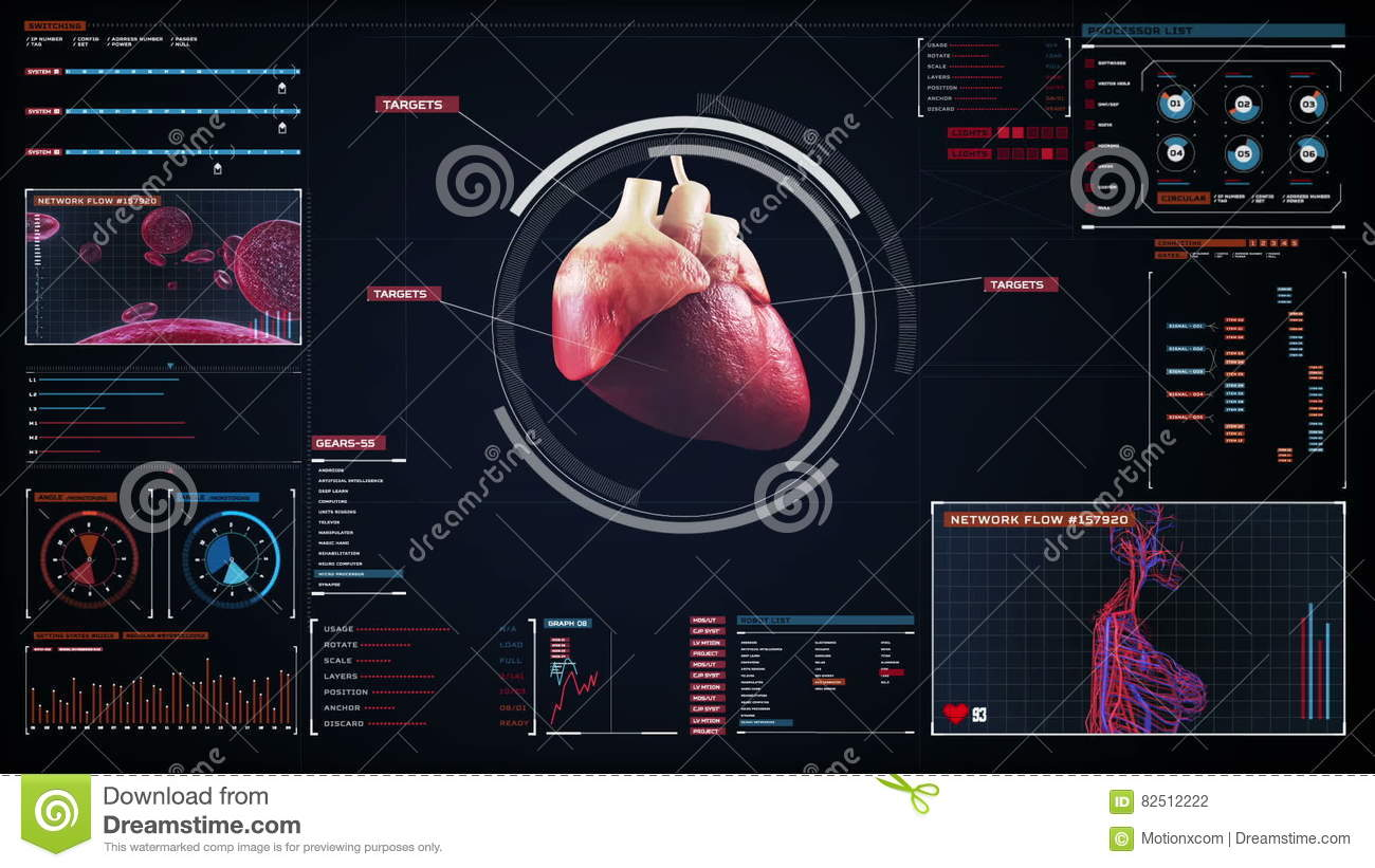 Scanning Heart Human Cardiovascular System Medical Technology
