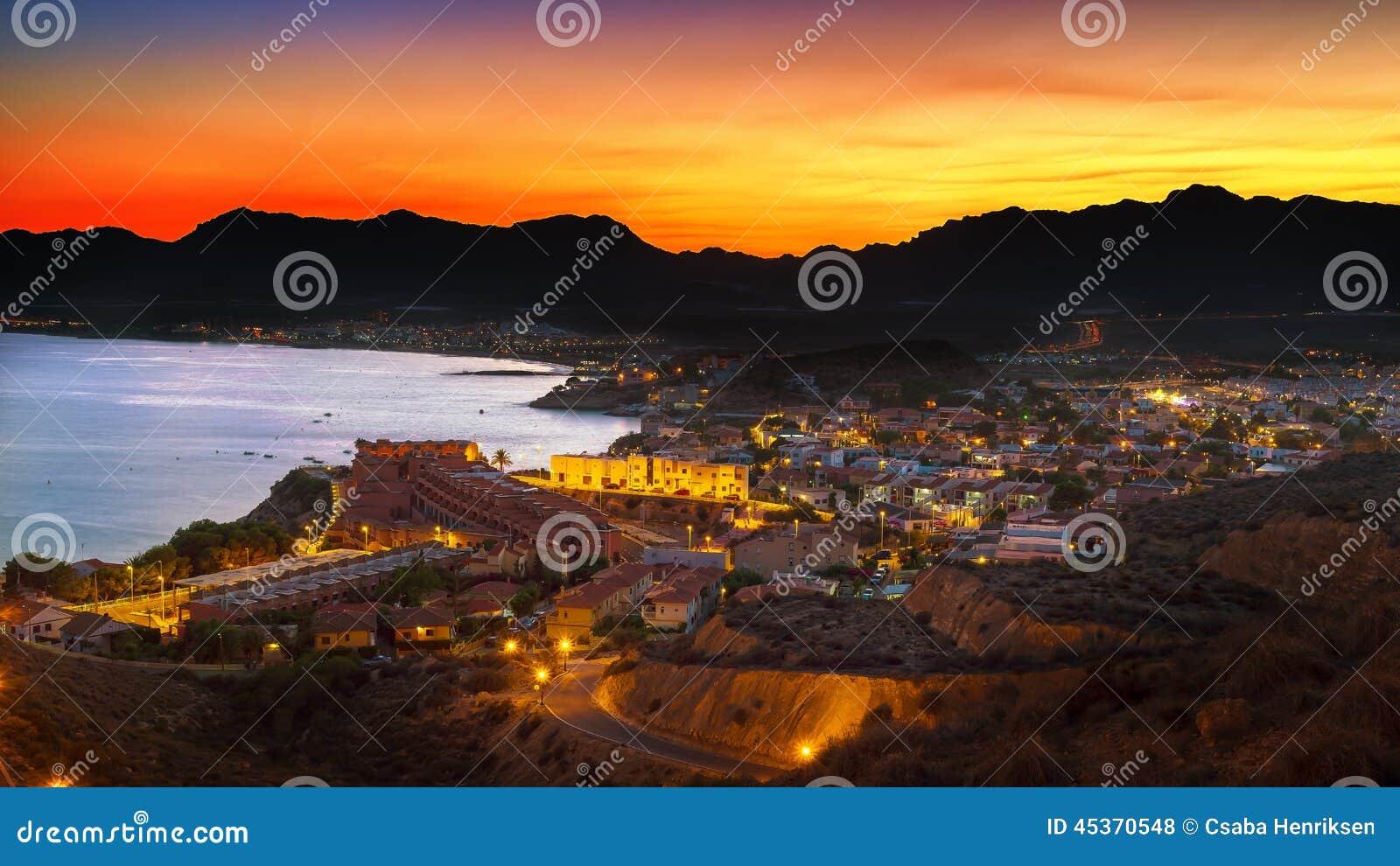 Scape de nuit de San Juan