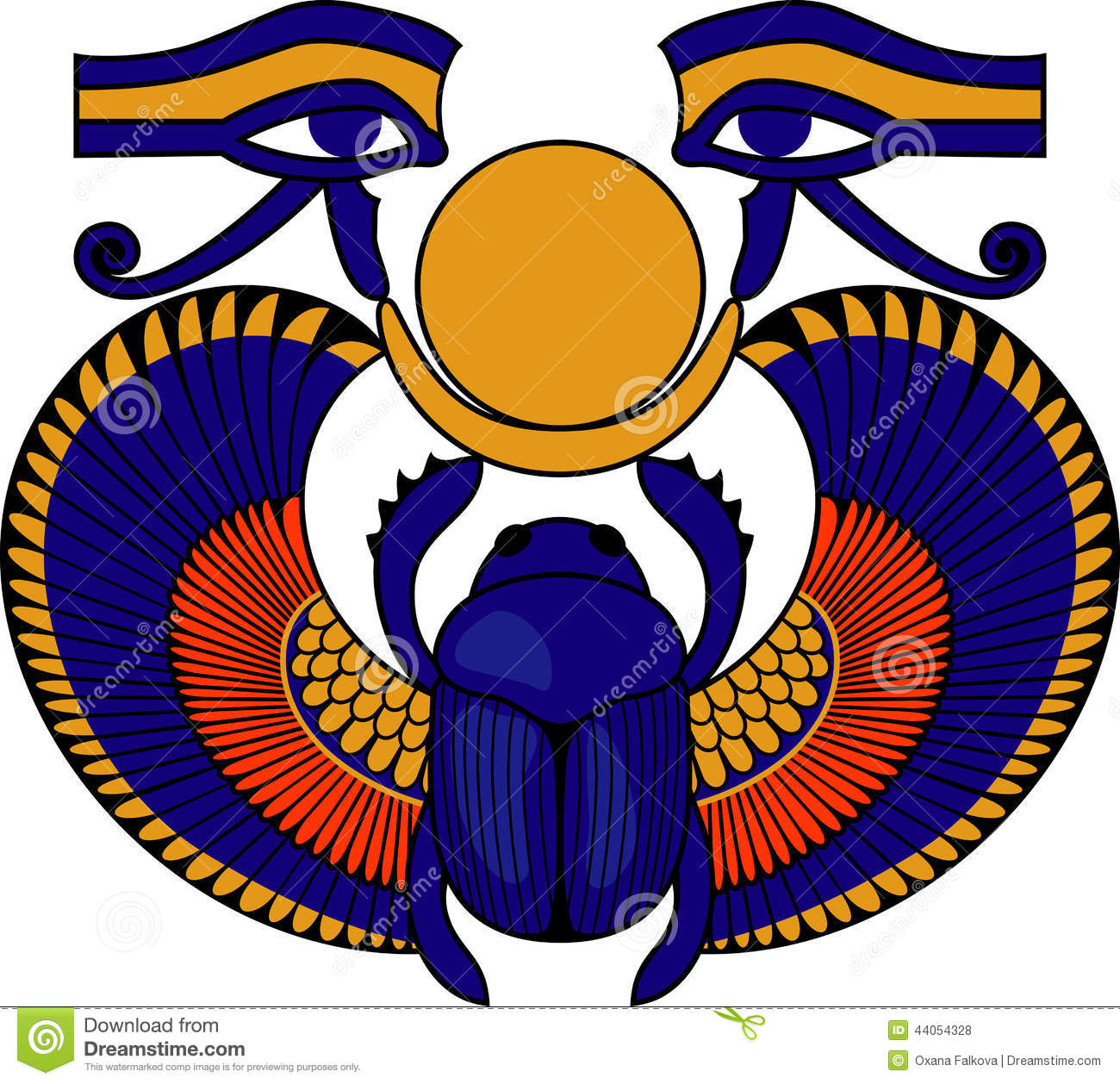 Scarab Stock Vector Illustration Of Abstract Look Divine 44054328
