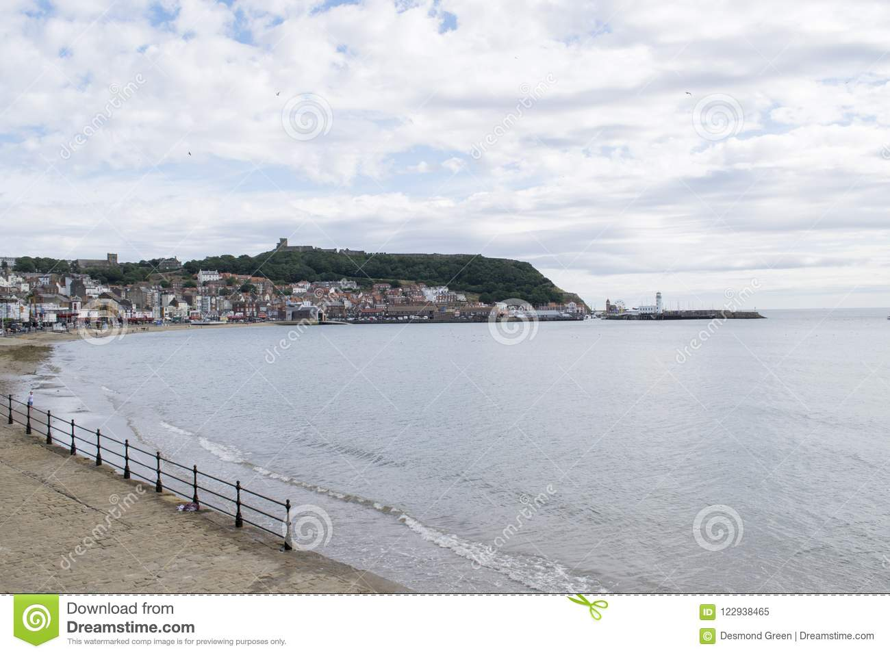 Scarborough, bahía del sur, North Yorkshire, Inglaterra, Reino Unido