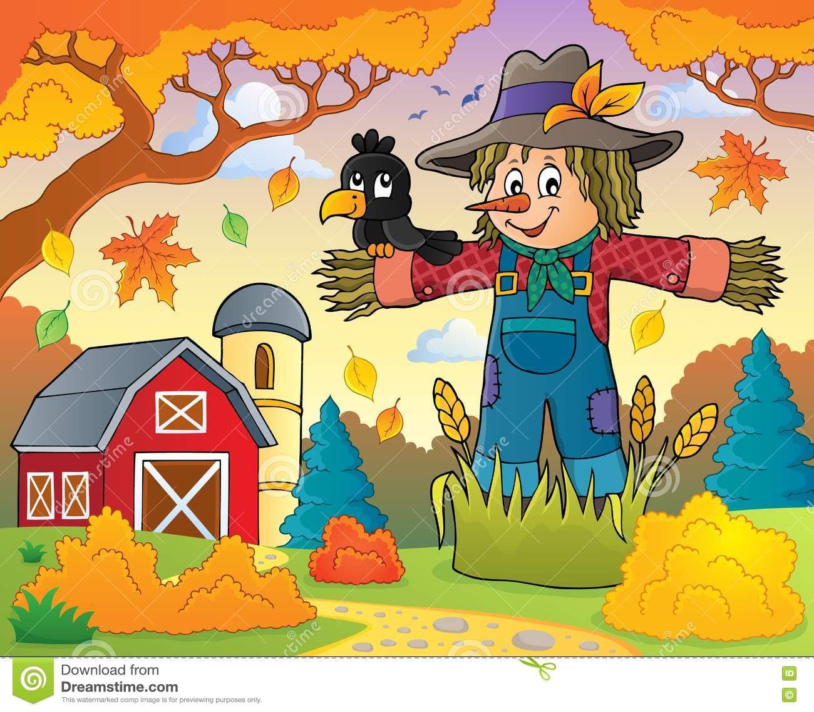 Scarecrow theme image 3