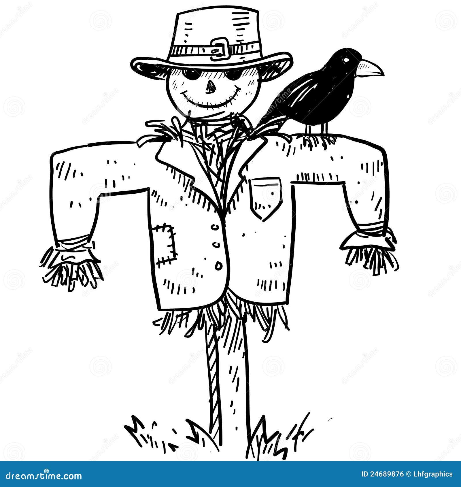Cartoon Scarecrow Stock Photos - Image: 30464013