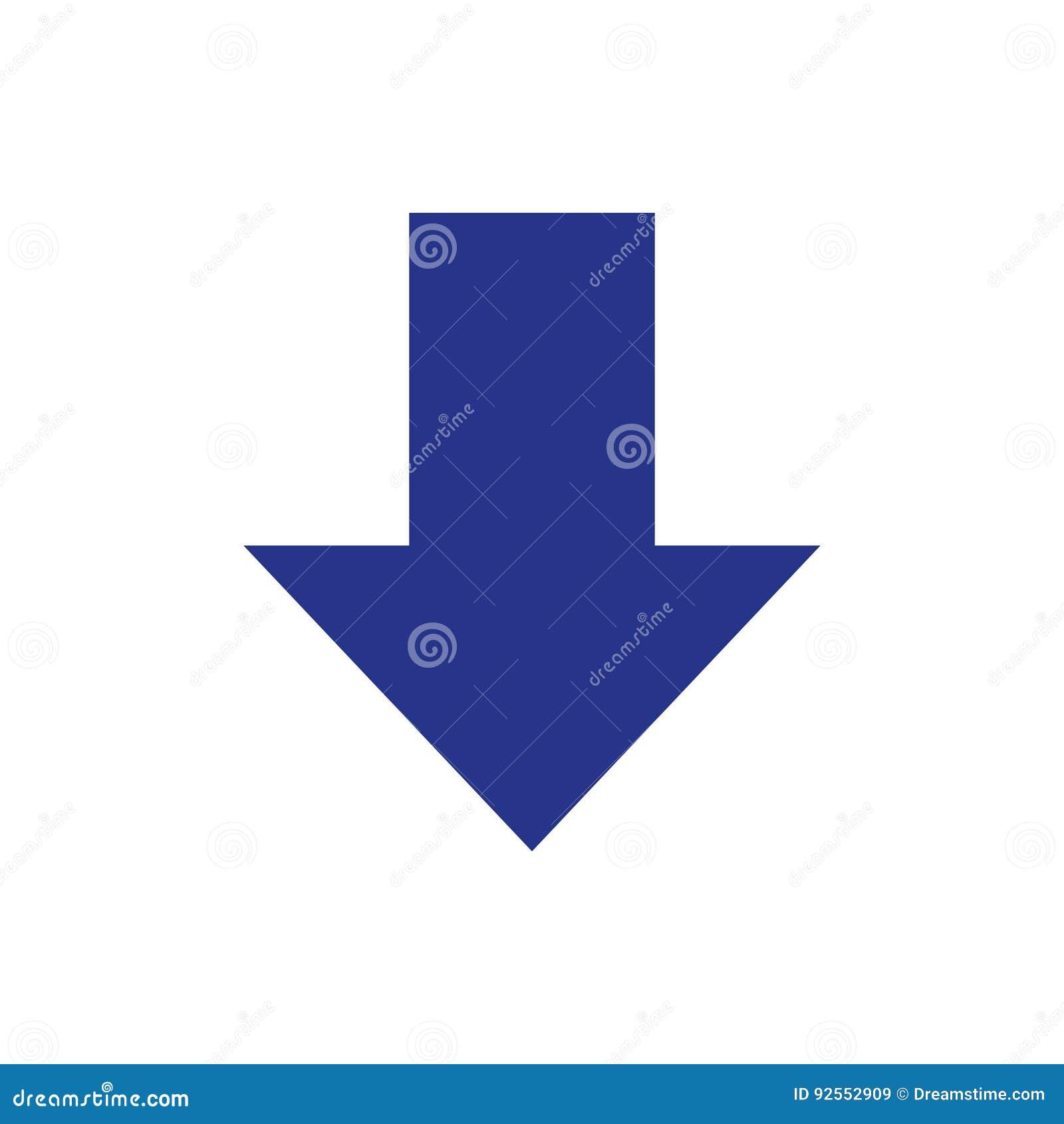 Scarichi lo stile piano di progettazione dell illustrazione di riserva di vettore dell icona