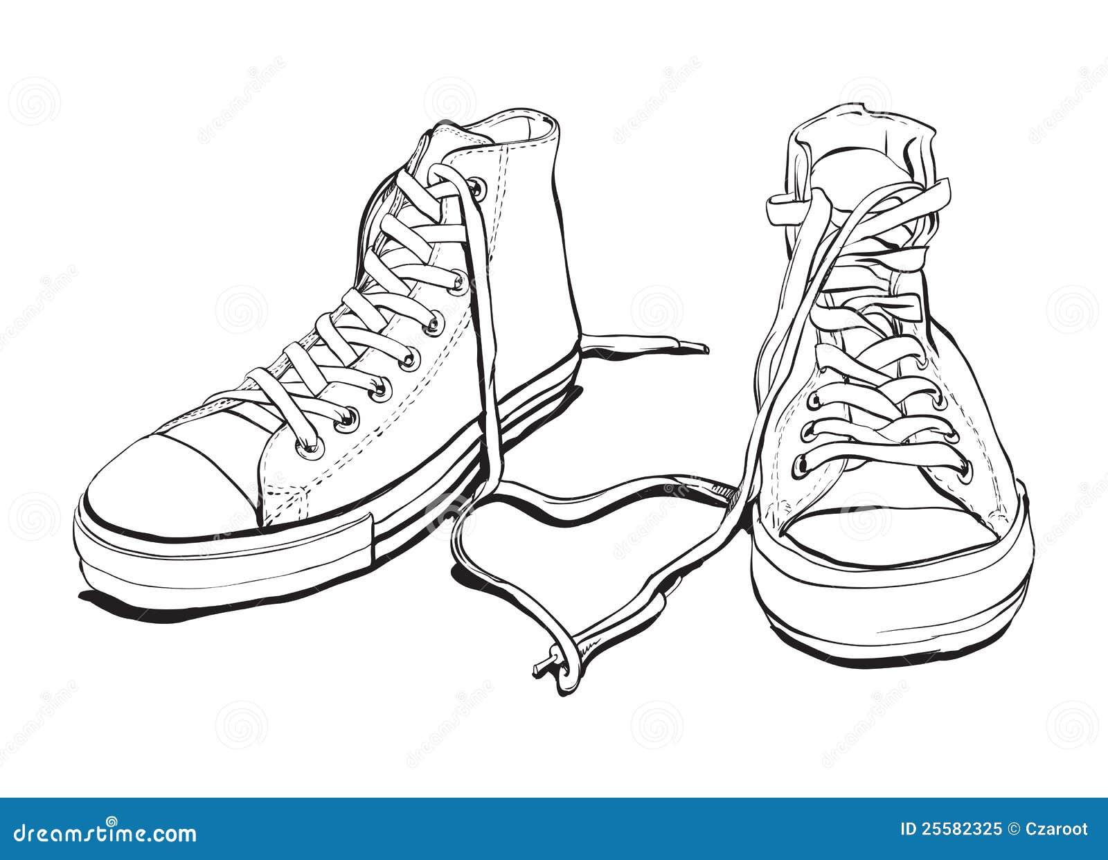 Disegno Da Colorare Bimbo Con Scarpa Sciolta Migliori Pagine Da