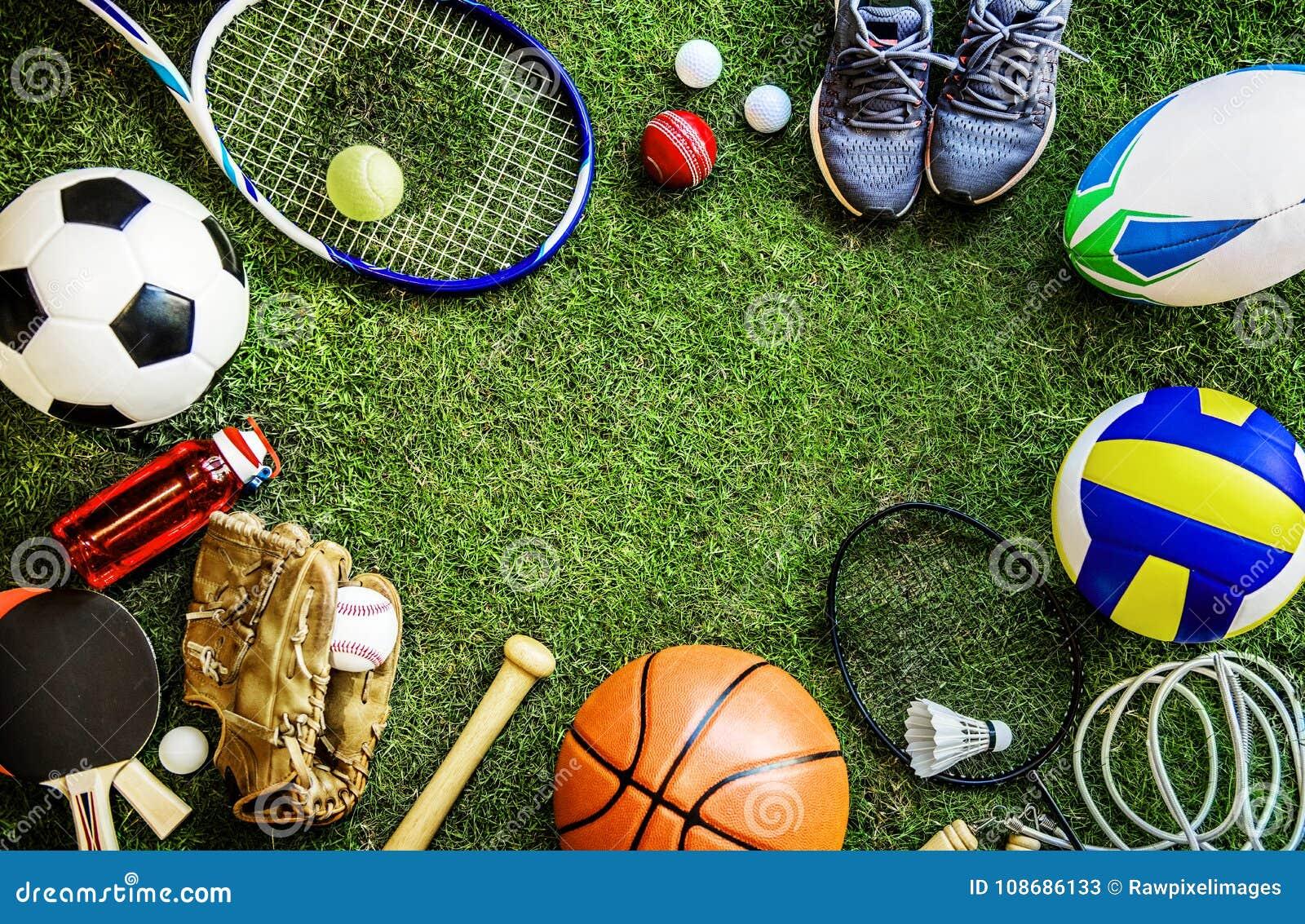 Scarpe delle palle degli strumenti di sport frantumate