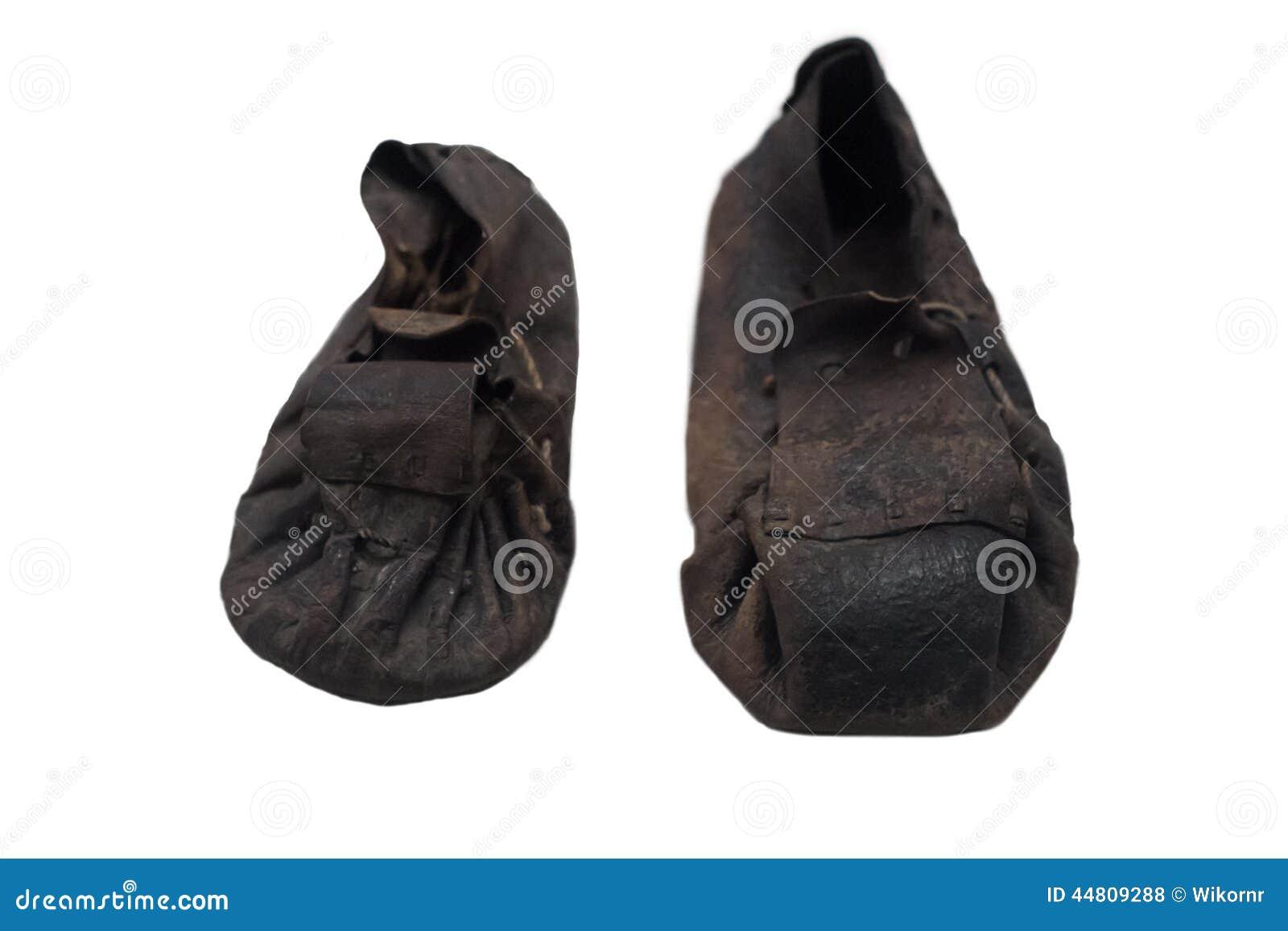 Scarpe giapponesi antiche fotografia stock. Immagine di  background   di 179e22