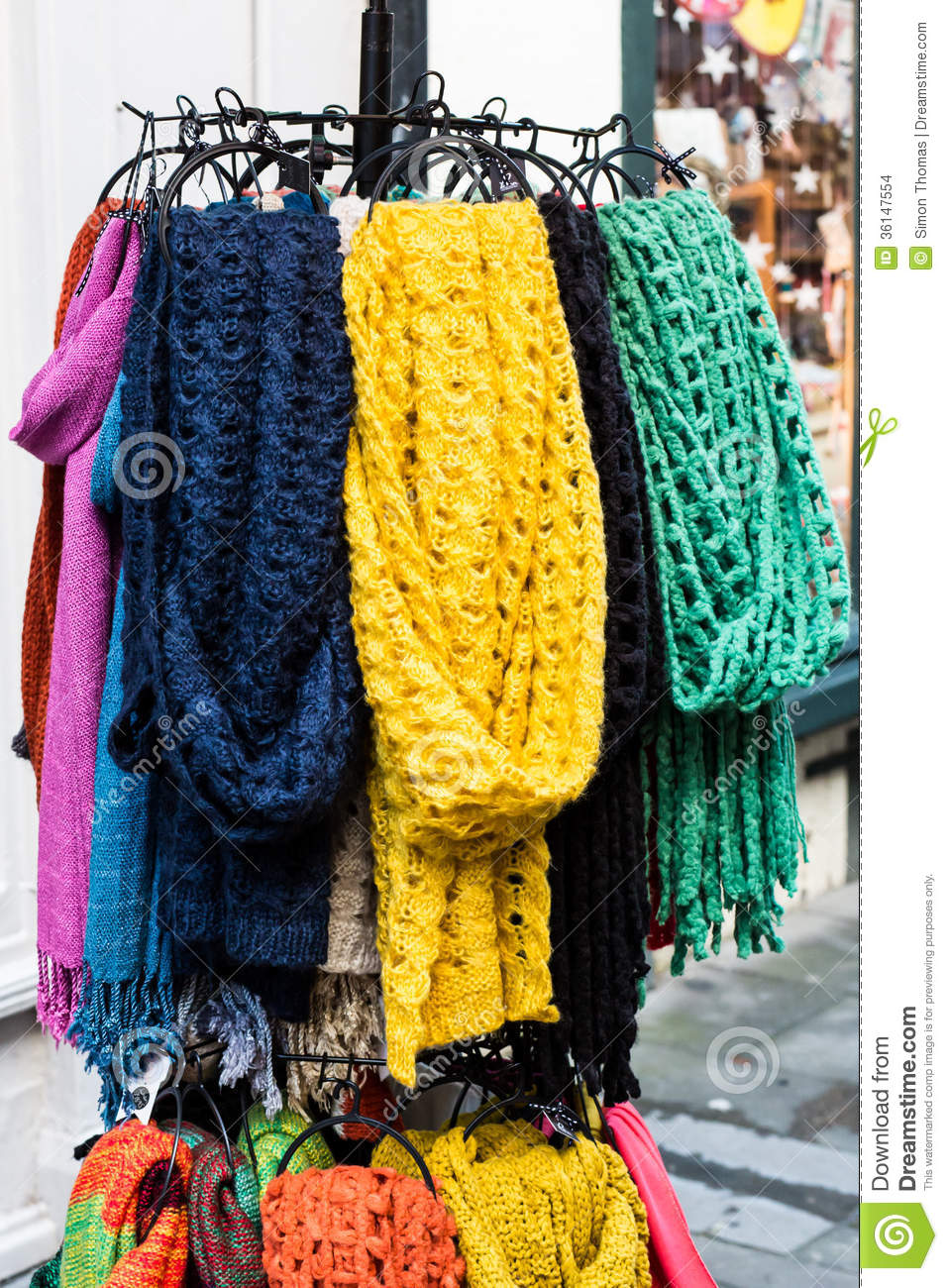 scarves for sale stock images image 36147554