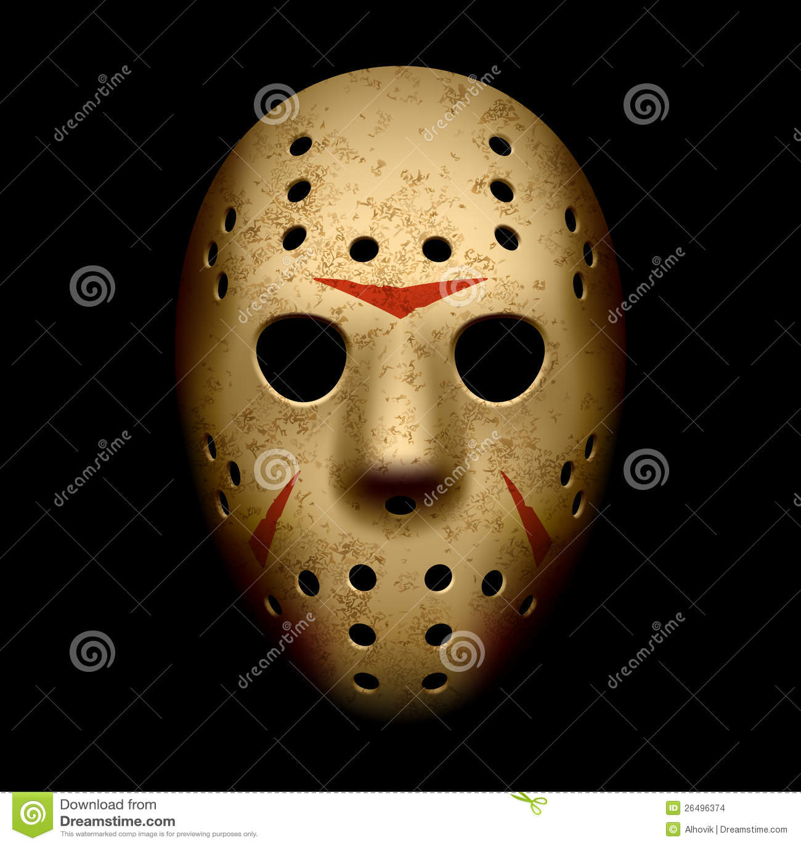 Scary μάσκα χόκεϋ