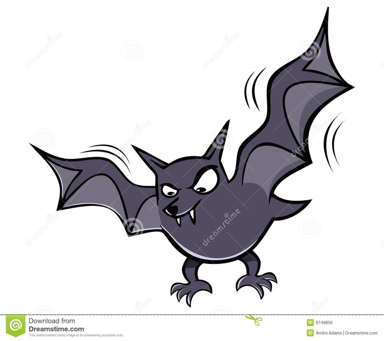 Scary Bat Royalty Free...