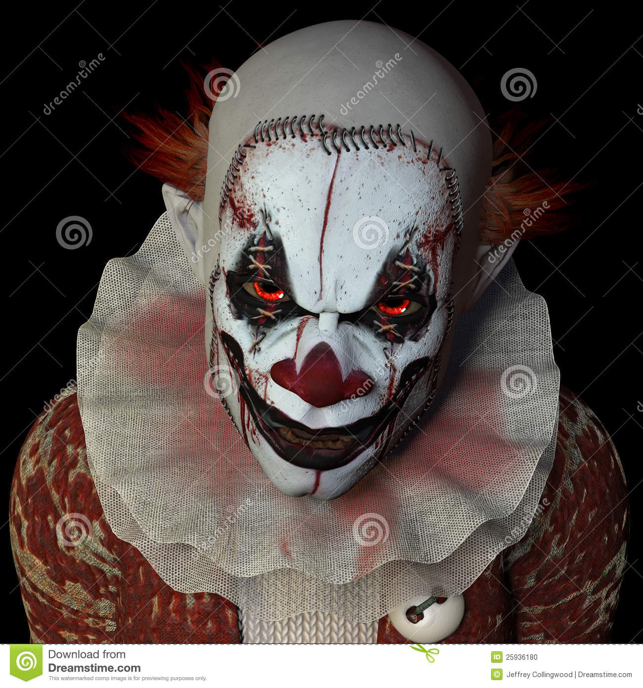 dream clowns zombies and a strange Most people think ghosts and monsters in dreams are nightmares unless you become frightened, it's not really a nightmare  clowns it's not paranormal, so don't worry about it.