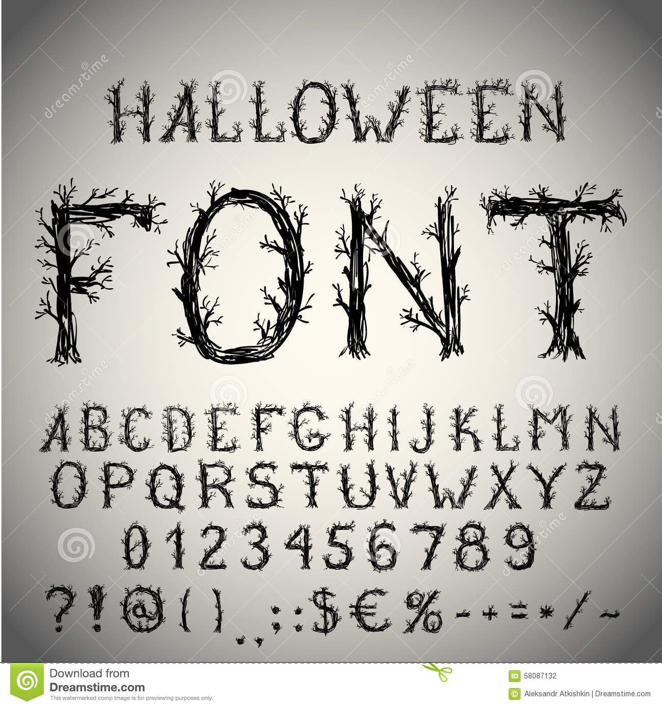 Related keywords suggestions for scary letters for Spooky letter stencils
